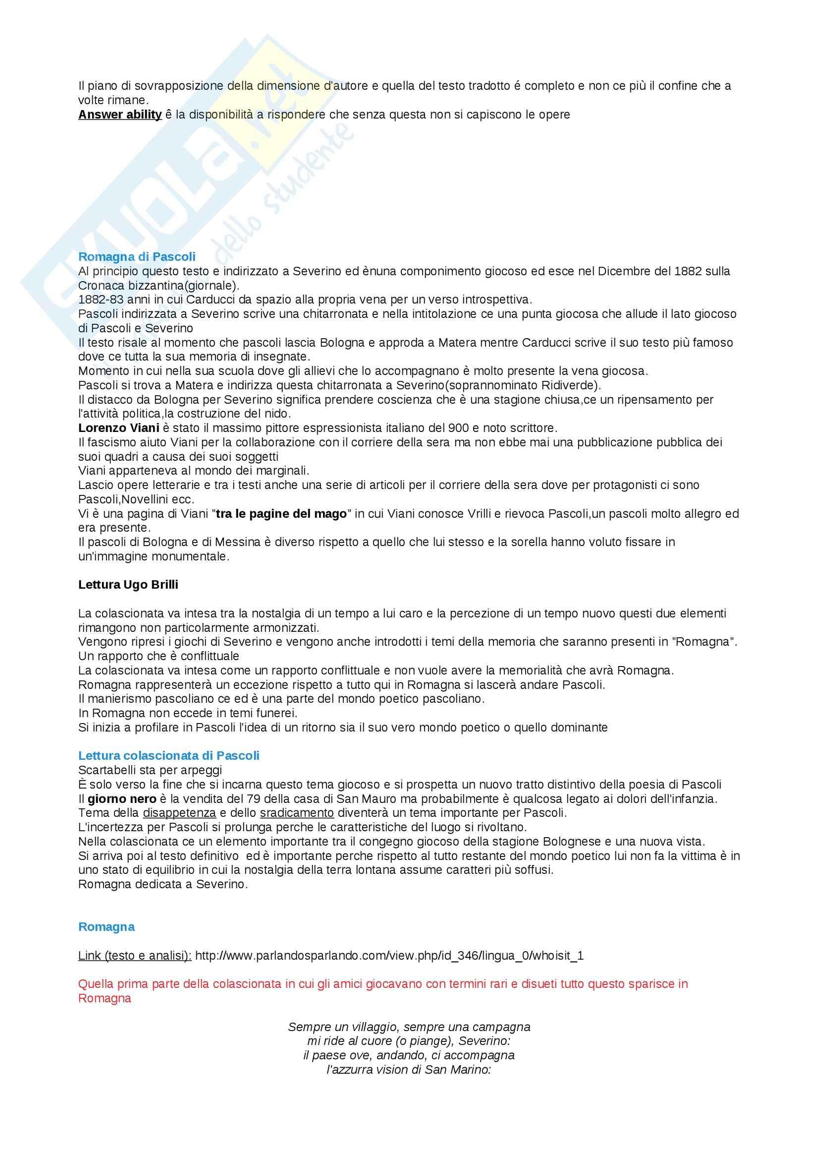 Lezioni, Letteratura italiana Pag. 21