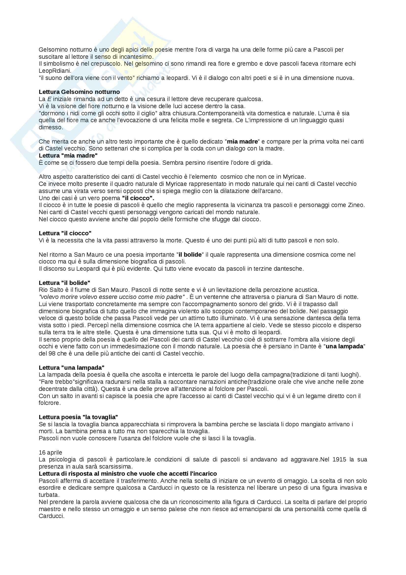 Lezioni, Letteratura italiana Pag. 51