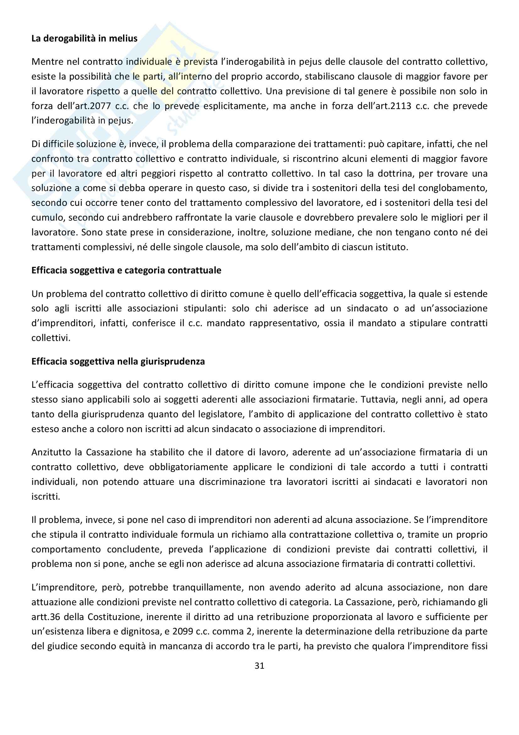 Diritto Sindacale Pag. 31