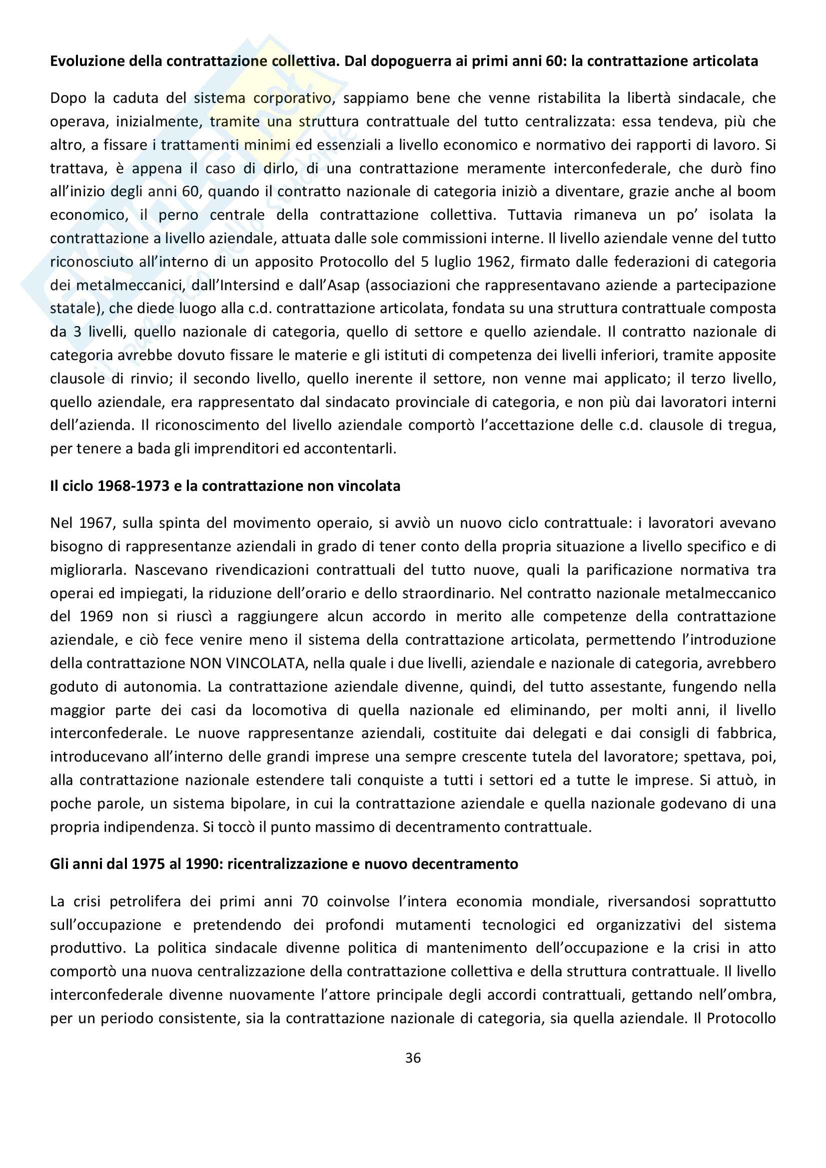 Diritto Sindacale Pag. 36