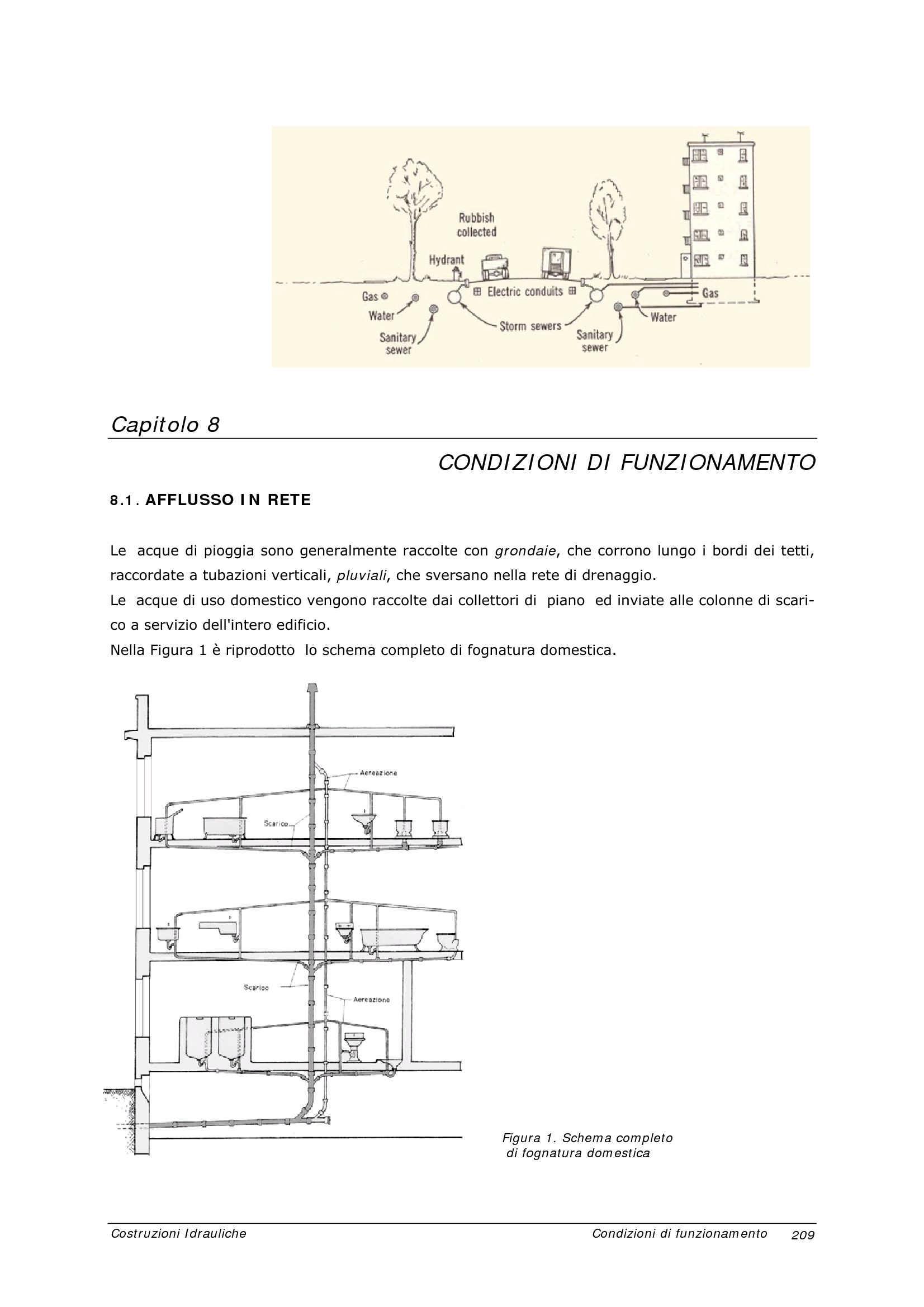 Fognature - Principi di funzionamento