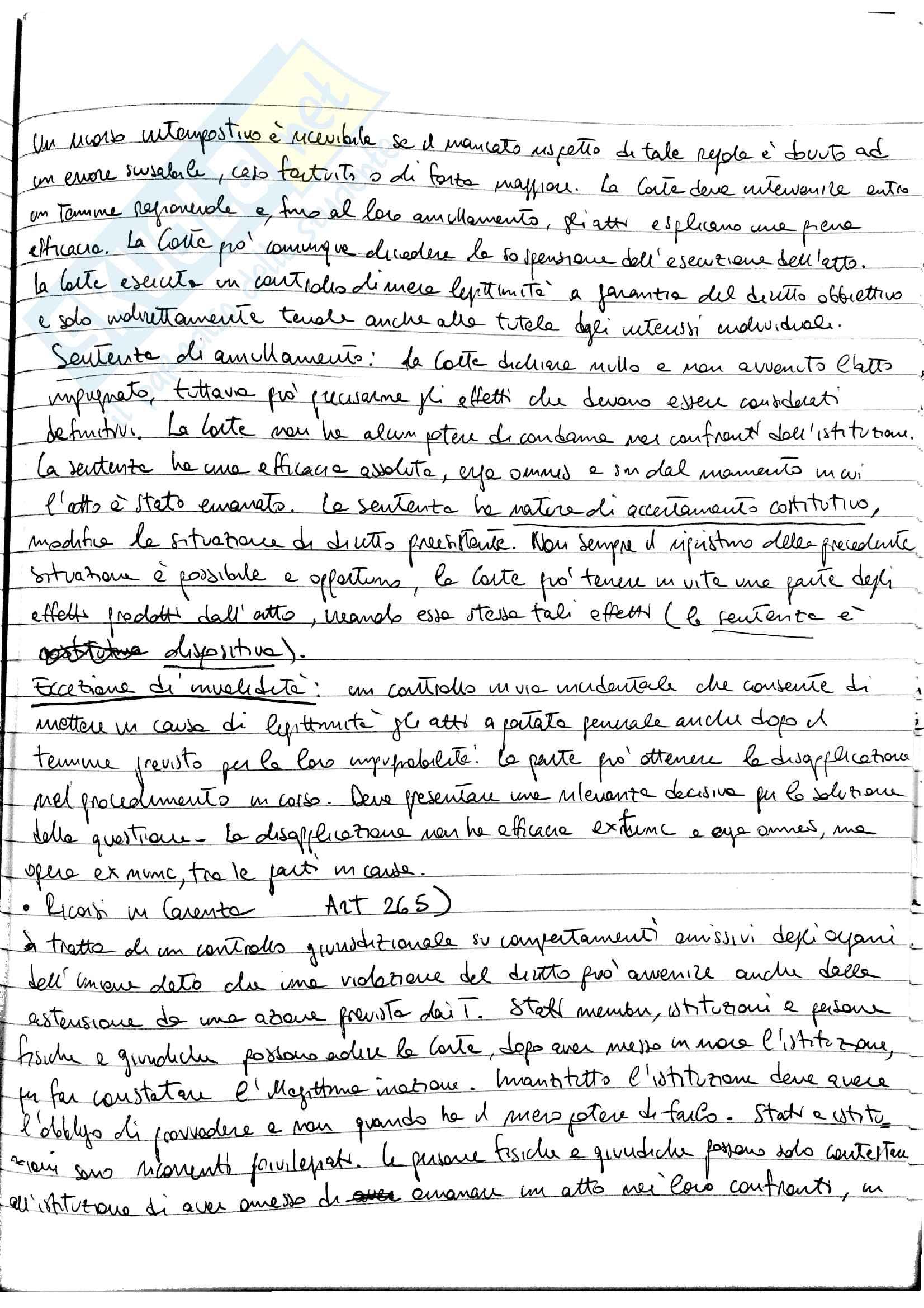 Appunti Diritto dell'Unione Europea - prof. Fortunato Pag. 41