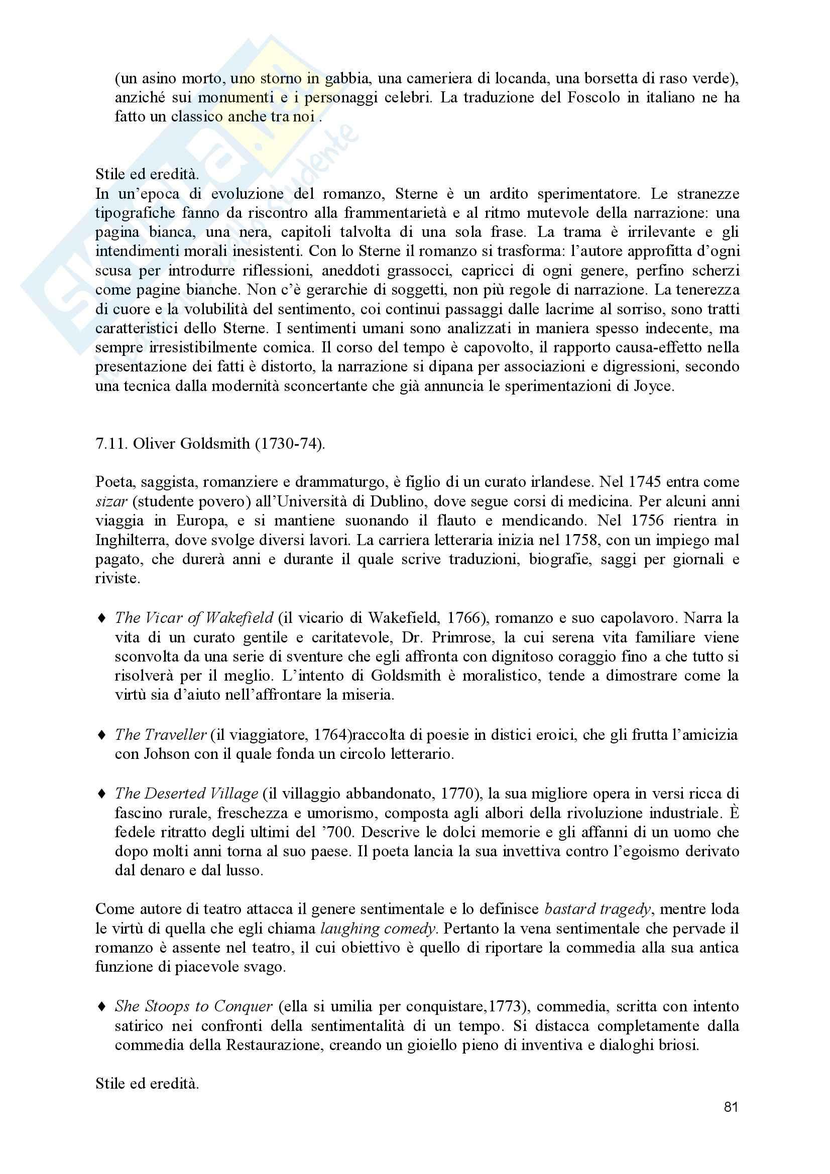 Lingua e Letteratura Inglese - Romanticismo Pag. 81
