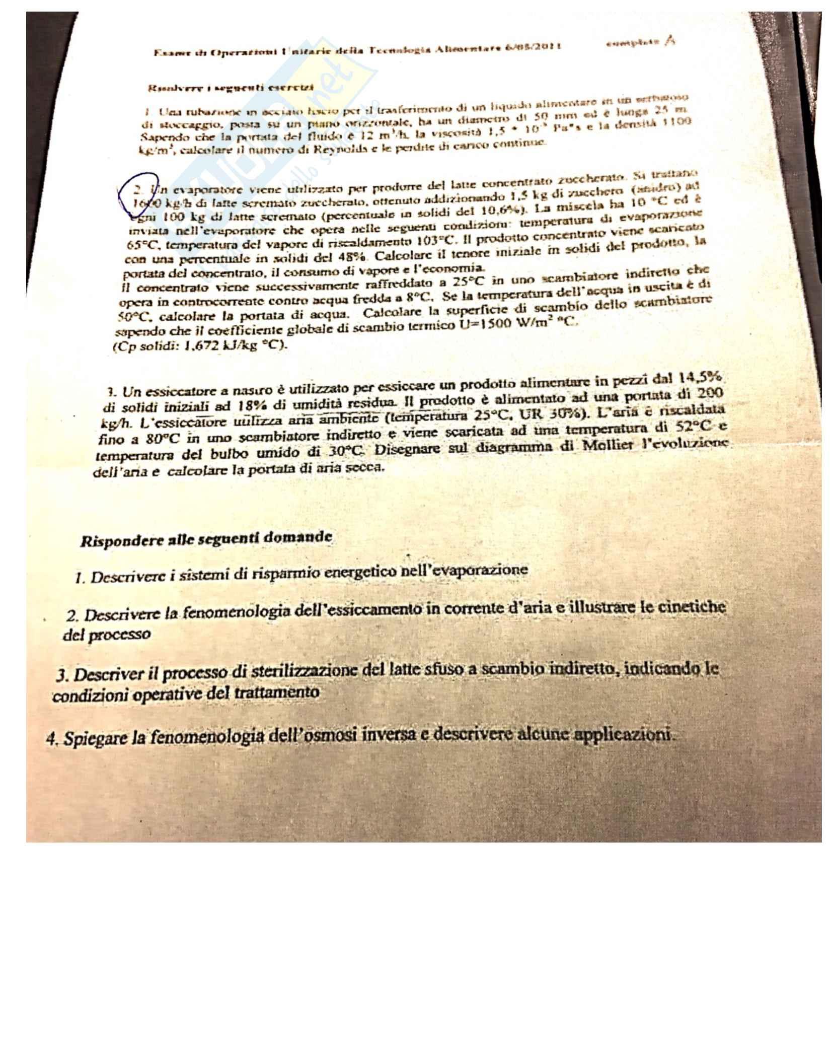 Esercizi svolti e teoria Operazioni Unitarie Pag. 11