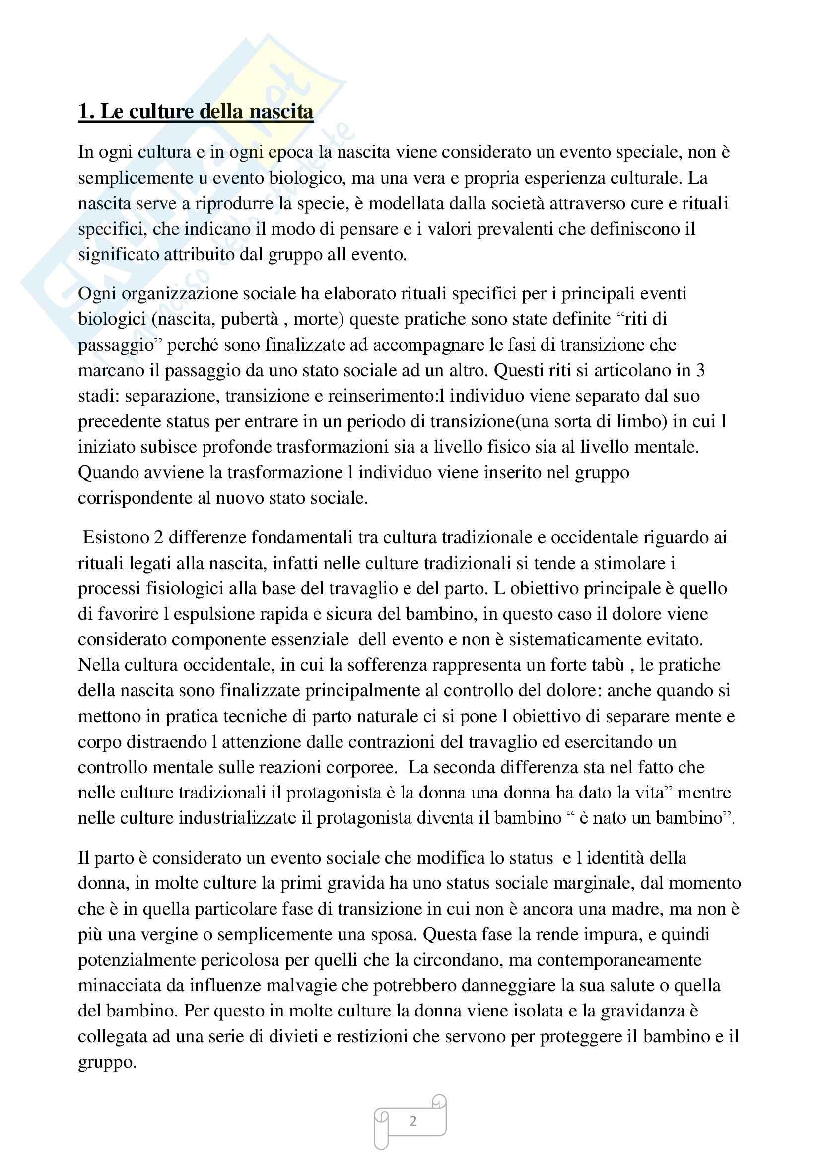 Riassunto esame Psicologia della prevenzione , prof. Zingales, libro consigliato Psicologia della maternità, Scopesi