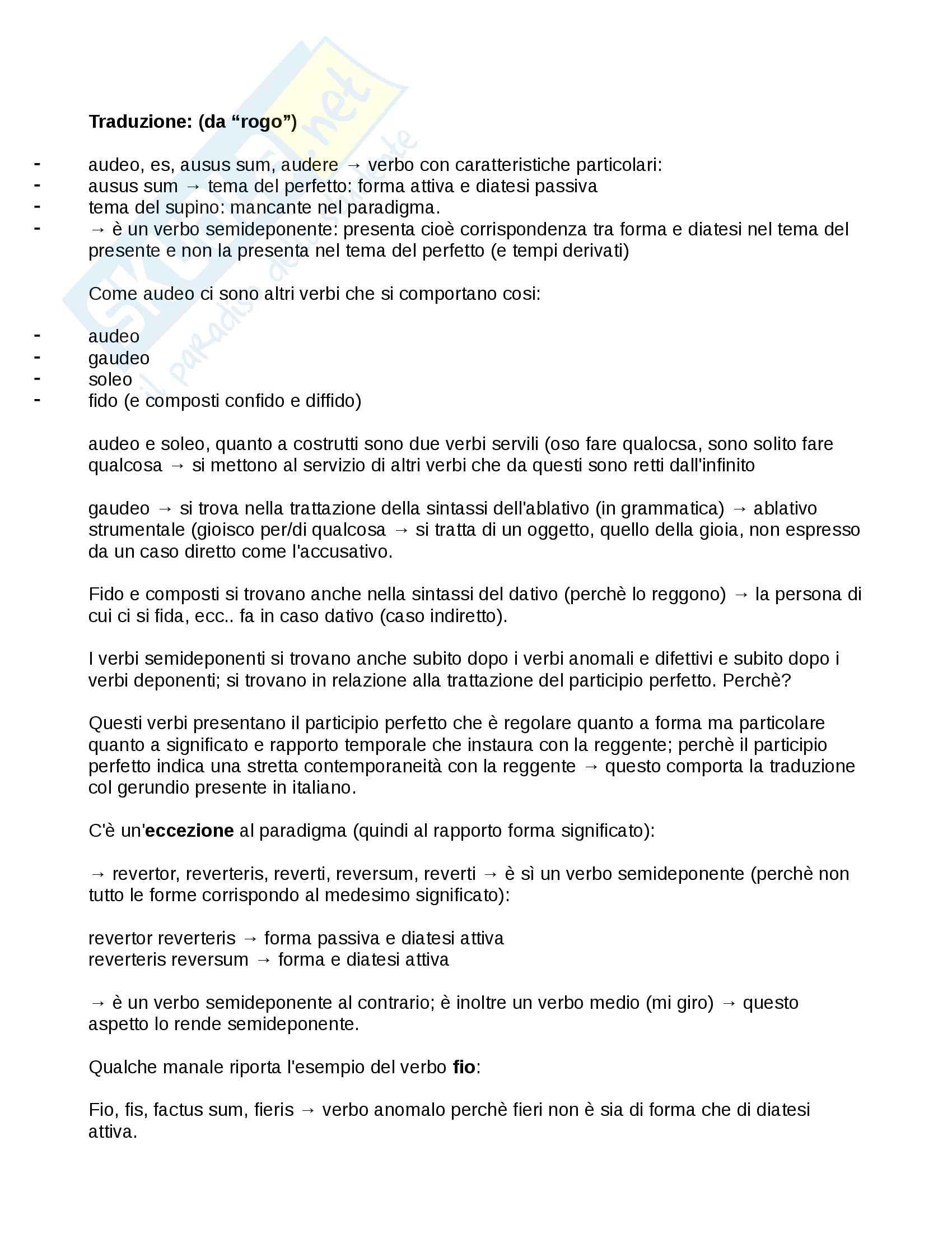 """De Tranquillitate Animi"", Seneca (Appunti, traduzioni)"