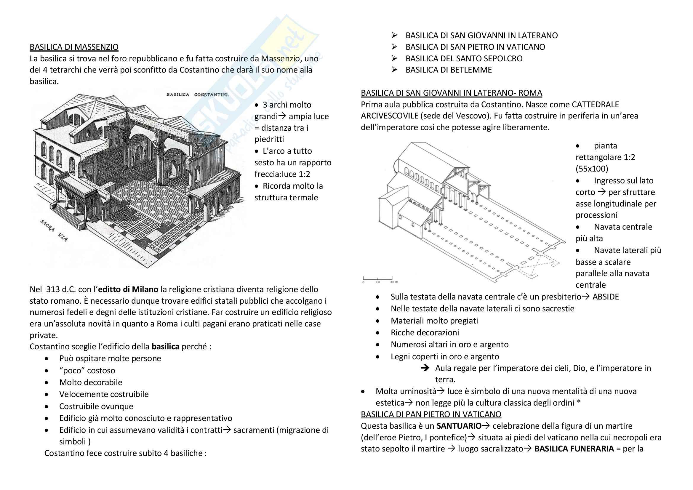 Storia dell'architettura dalle origini al '600 Pag. 21