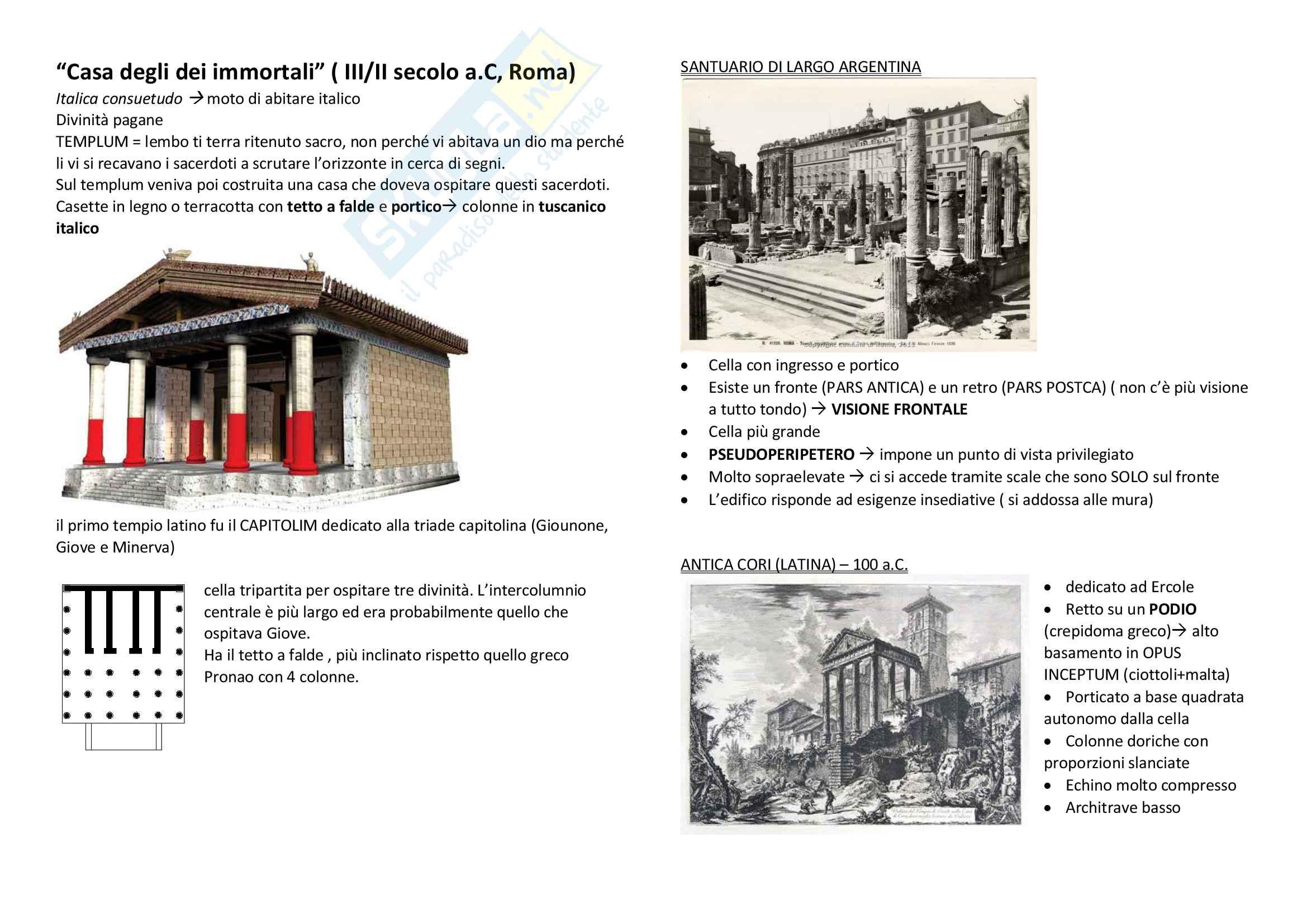 Storia dell'architettura dalle origini al '600 Pag. 6
