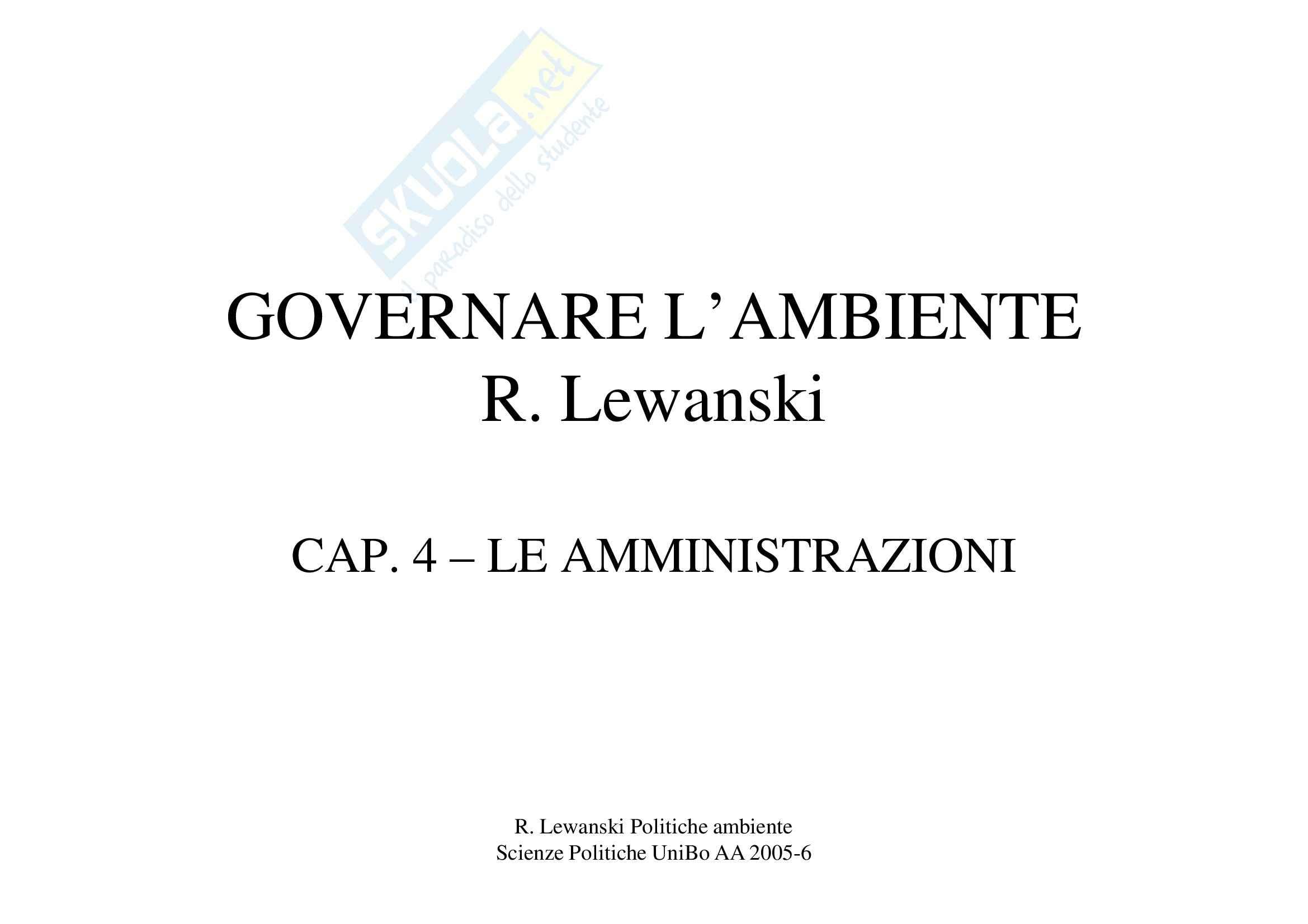 Le amministrazioni