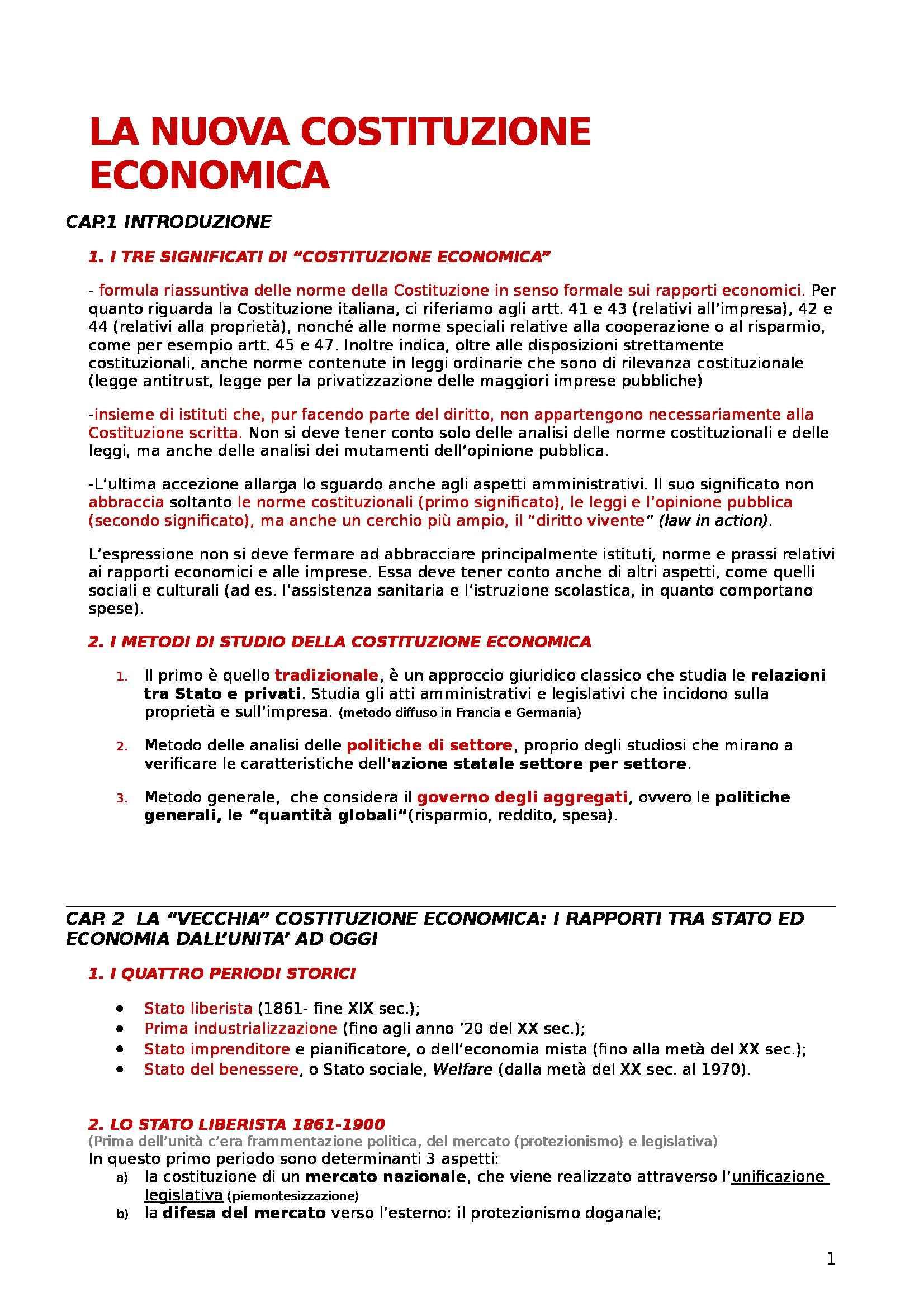 appunto M. Nicolini Diritto pubblico dell'economia