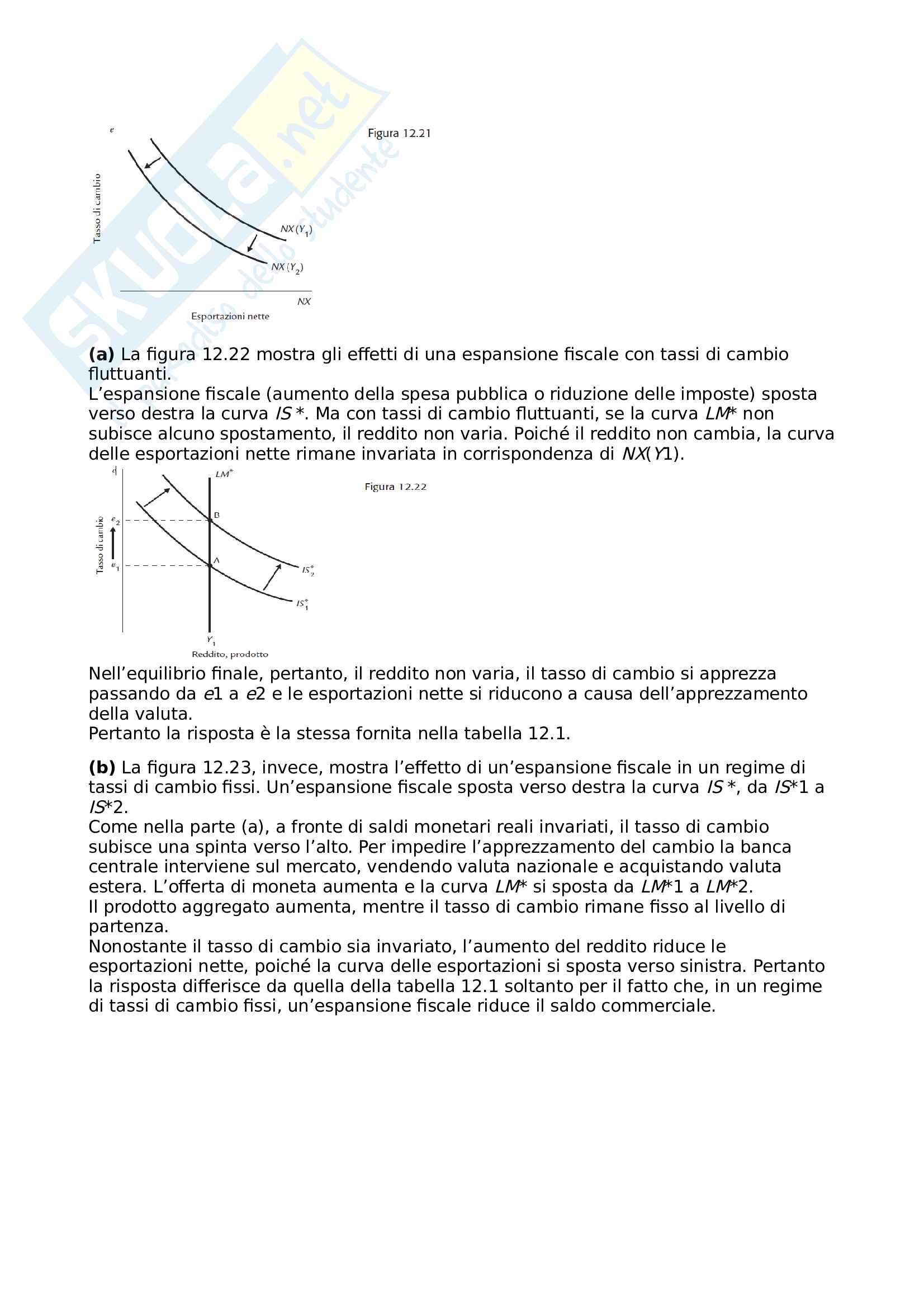 13.Rivisitazione economia aperta modello di mundell fleming Pag. 26