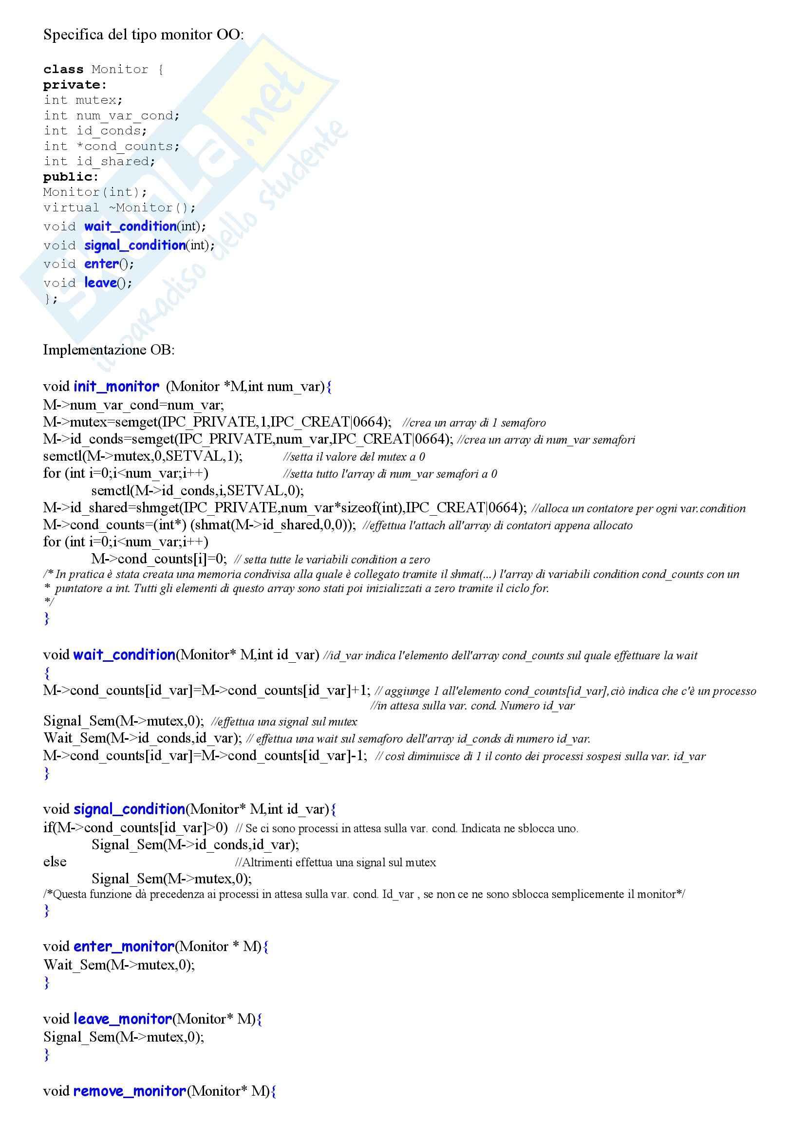 Sistemi operativi - schema suntivo per la prova pratica Pag. 6