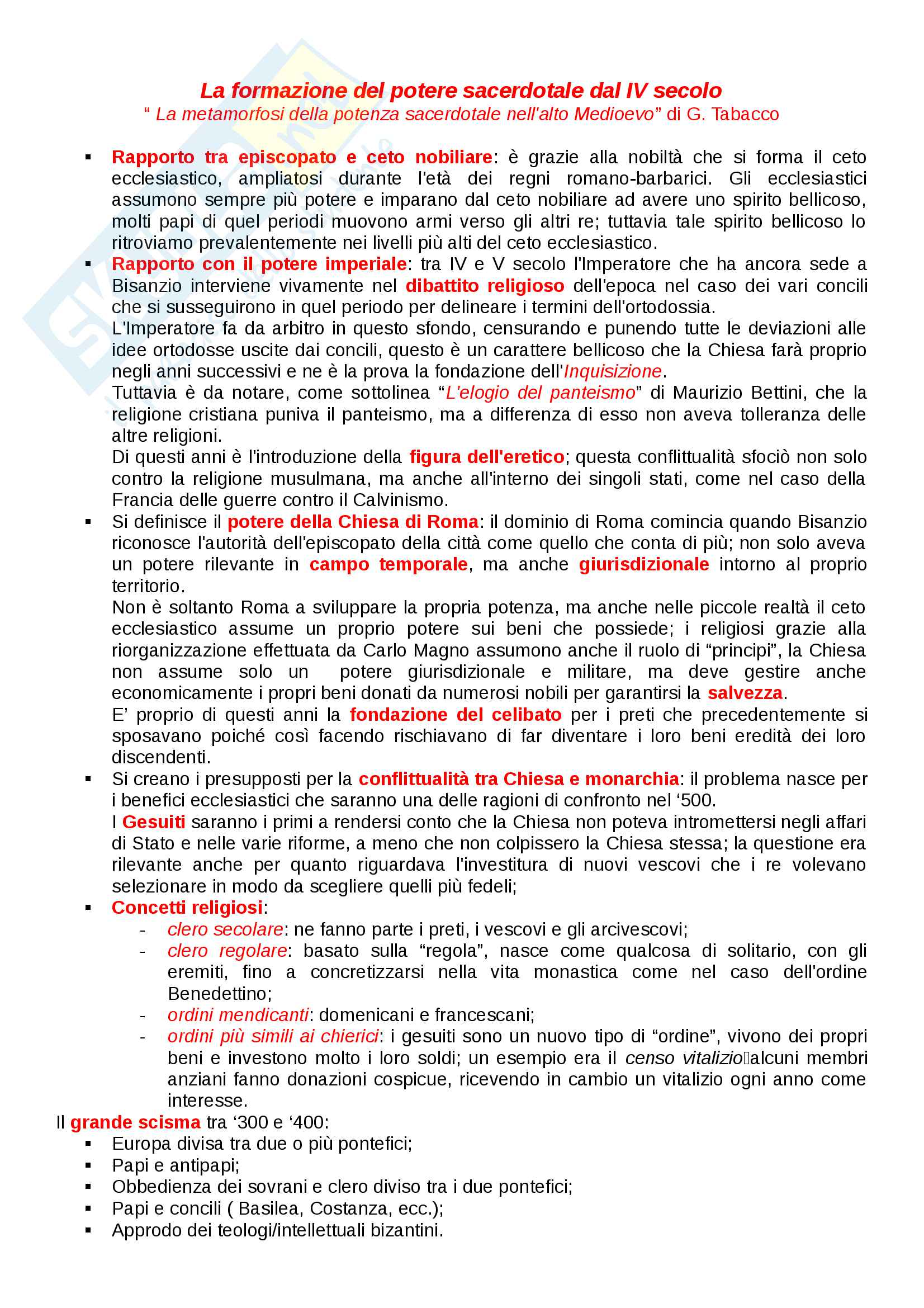 Appunti di Storia moderna (lezioni complete) Pag. 11