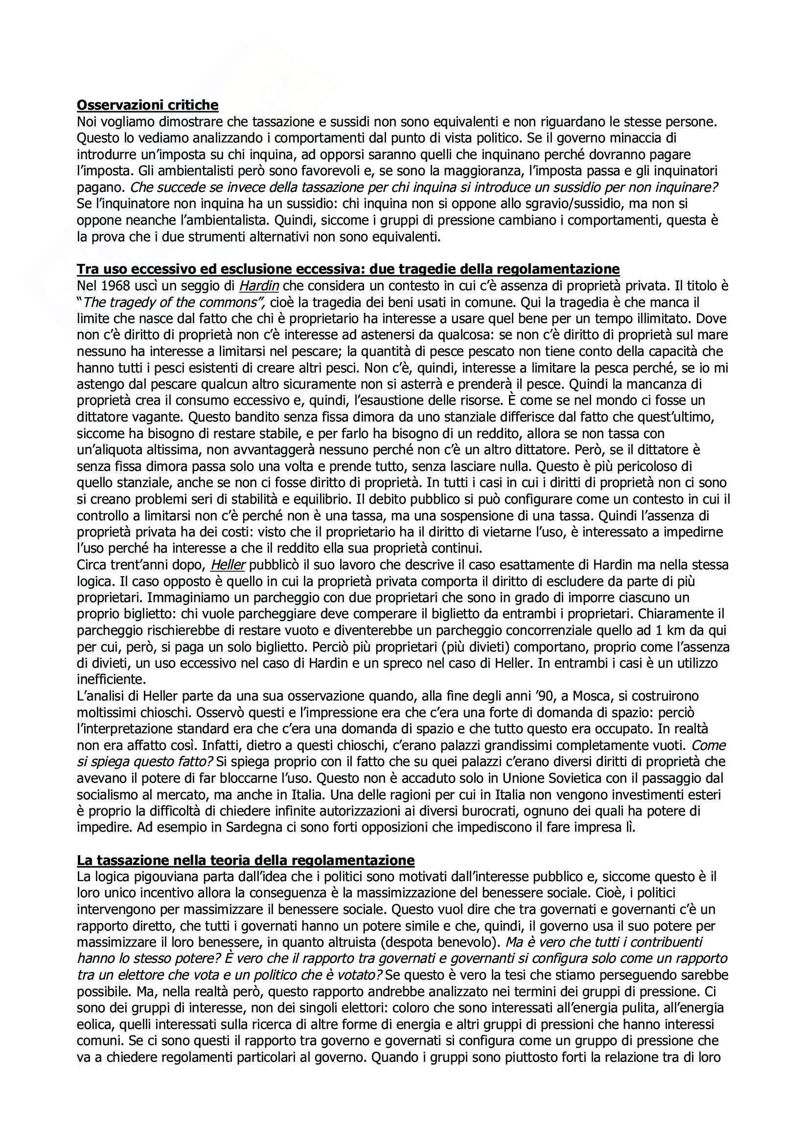 Scienza Delle Finanze (Corso Avanzato) - Appunti Pag. 16