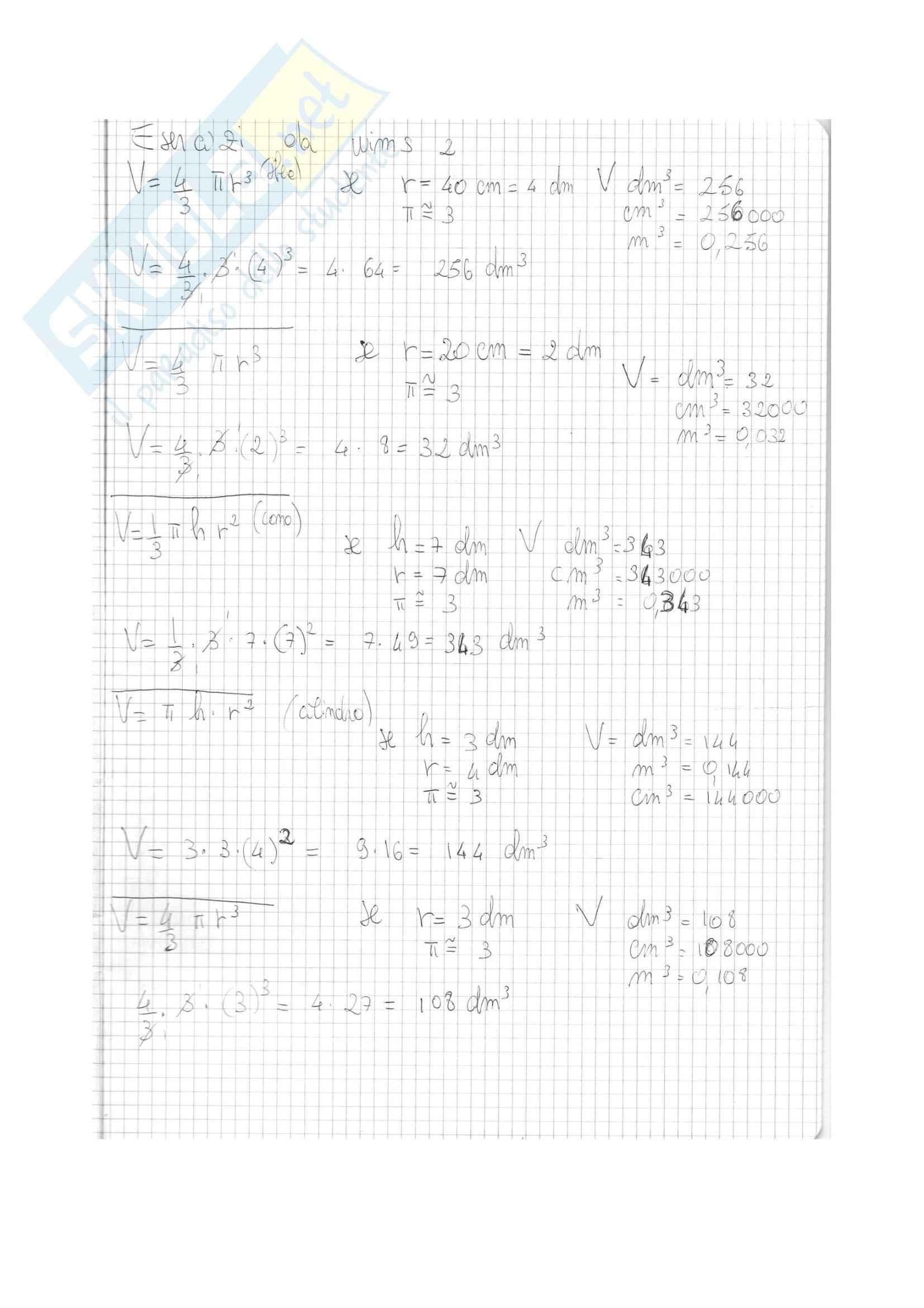 Istituzioni di matematica 2 - Appunti