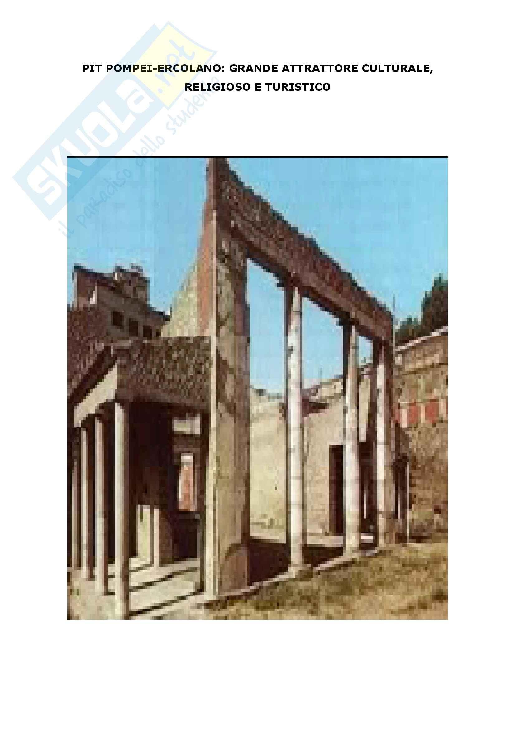 Economia politica - Pit , sistema archeologico