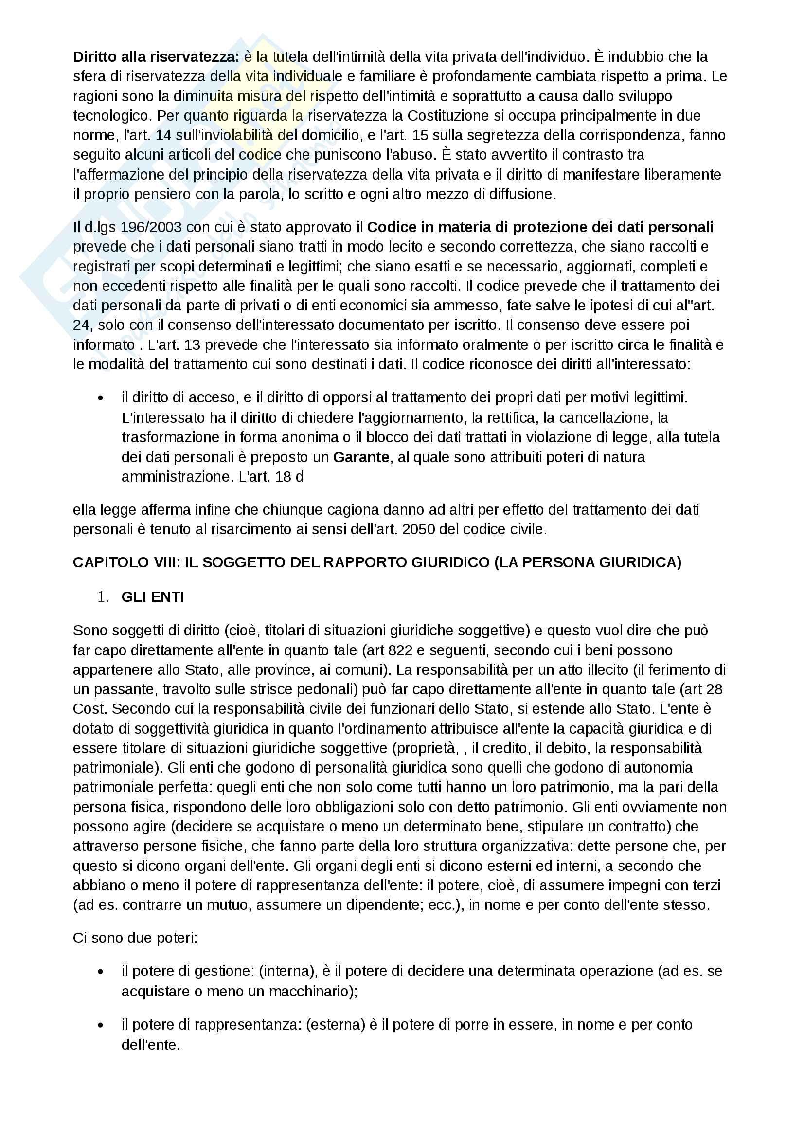 Appunti di Diritto Privato Pag. 26