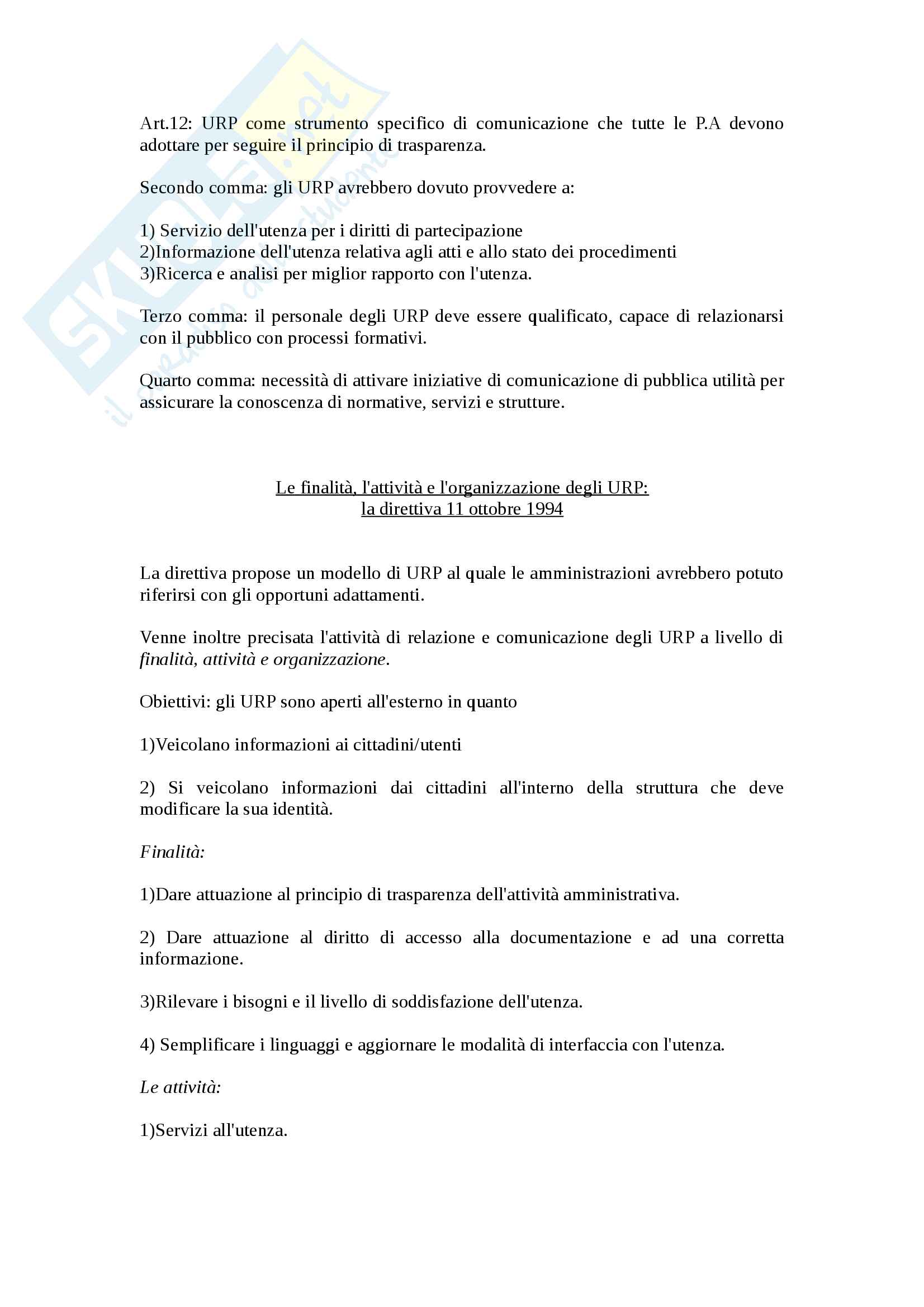 Riassunto esame comunicazione pubblica, prof. Grandi, La comunicazione pubblica, Roberto Grandi Pag. 26