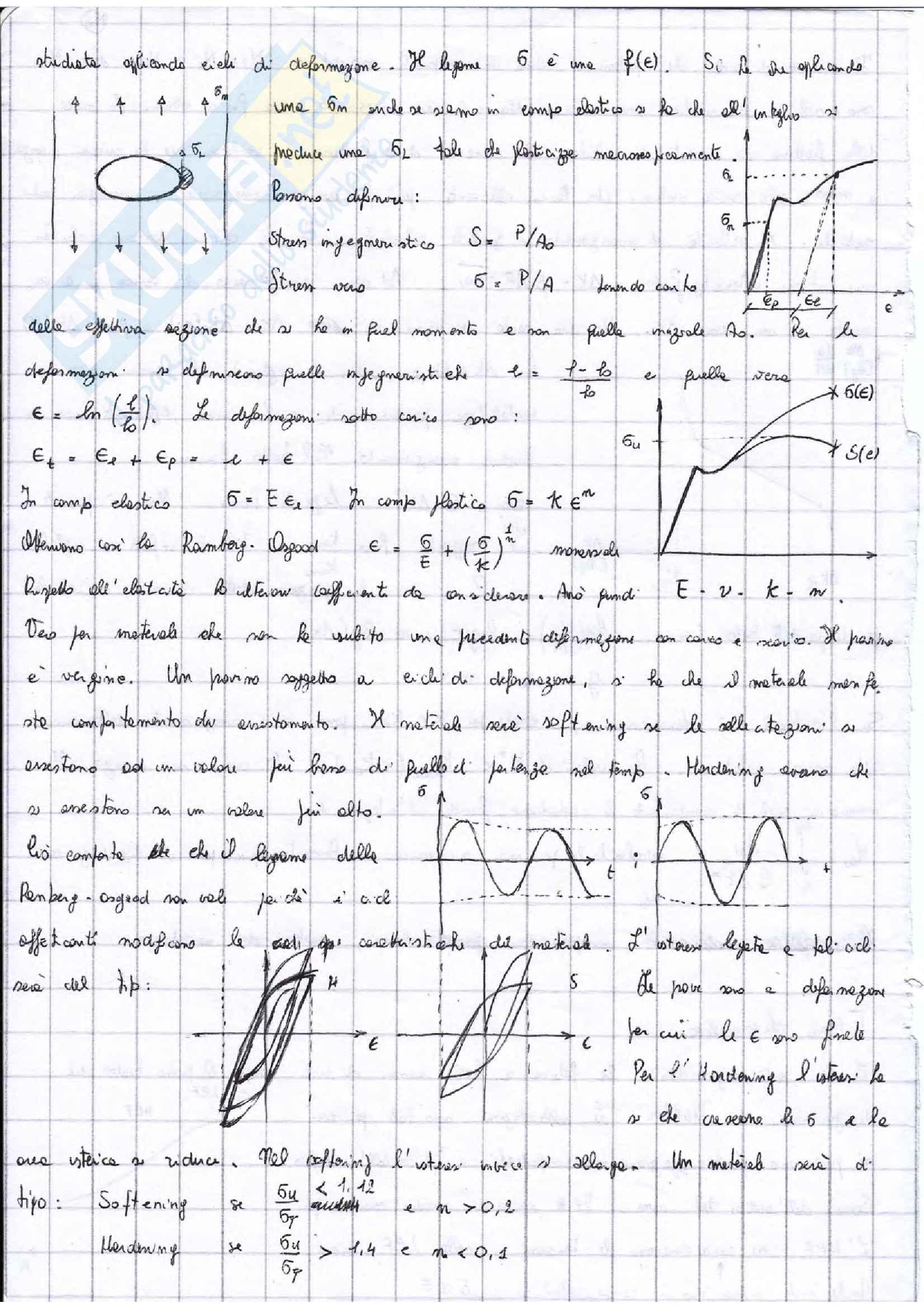 Appunti Costruzioni di macchine + esercizi esame prof. Citarella Pag. 16