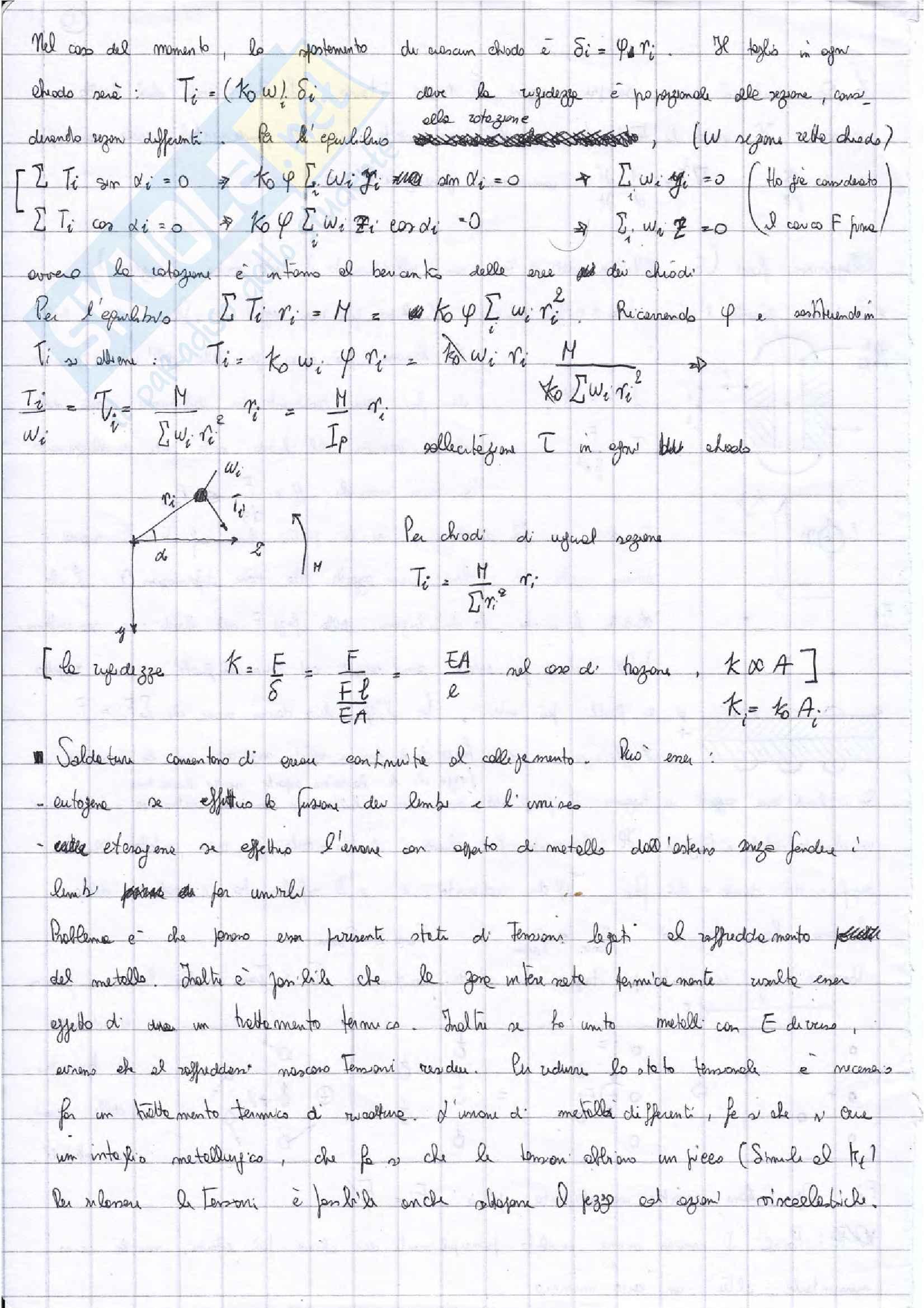Appunti Costruzioni di macchine + esercizi esame prof. Citarella Pag. 26