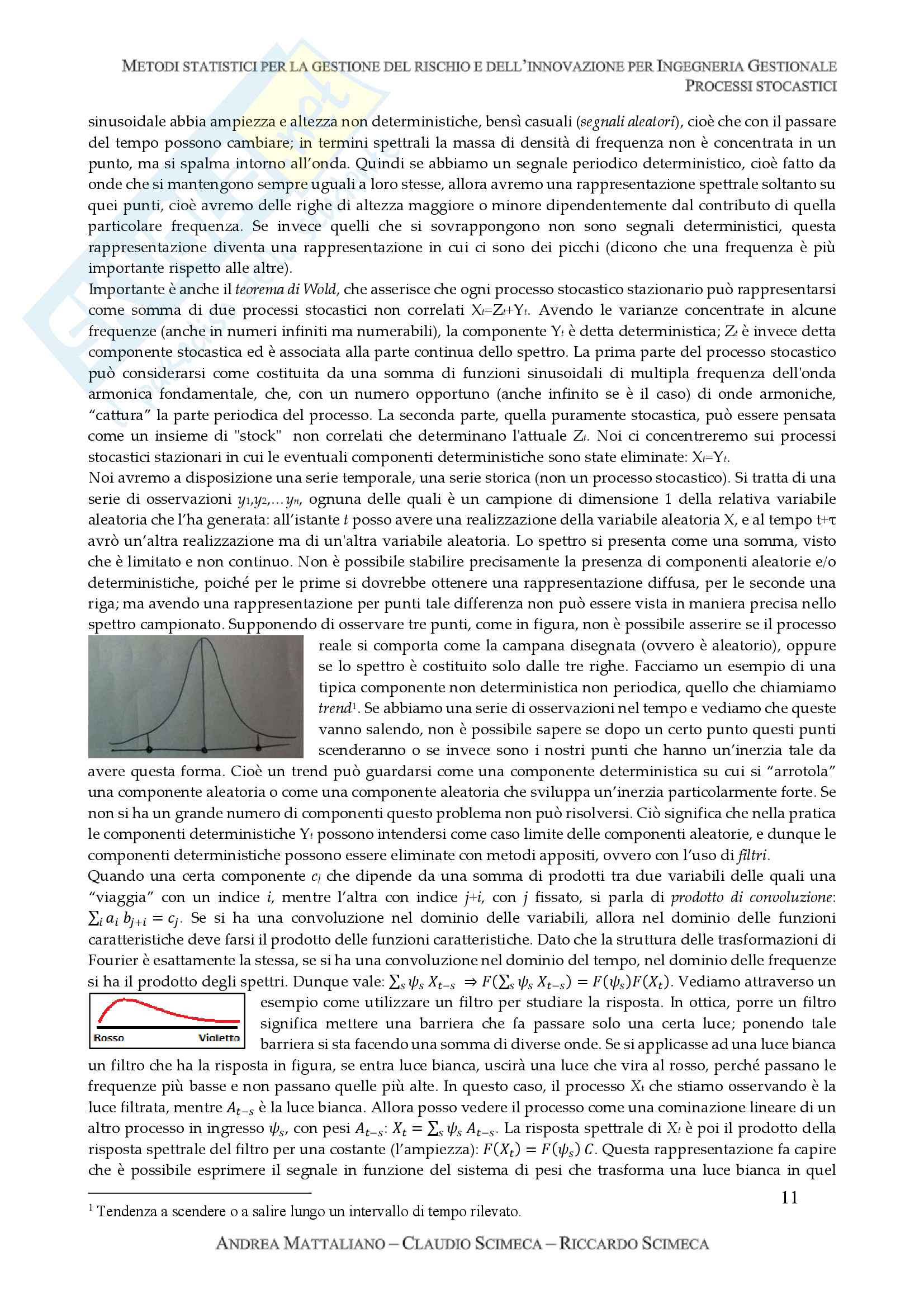 Processi stocastici Pag. 11