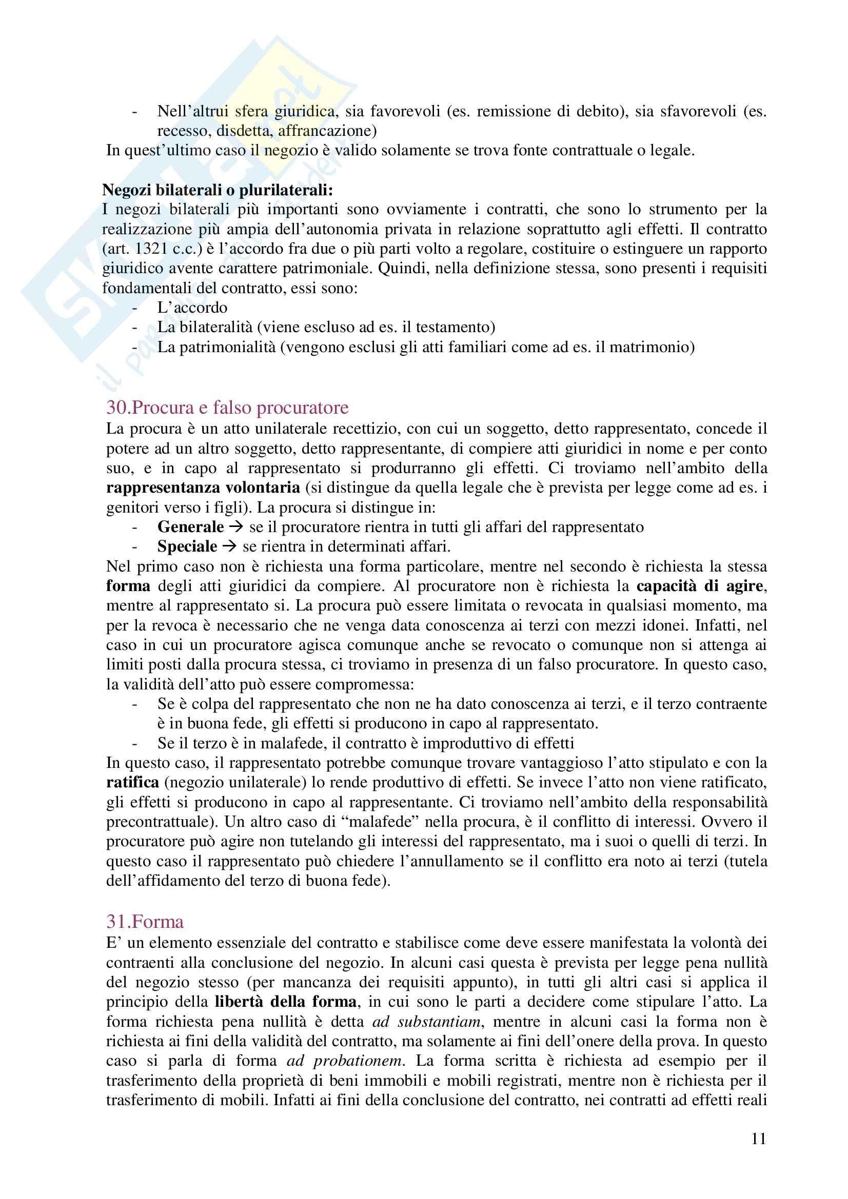 Diritto privato - Domande e risposte Pag. 11