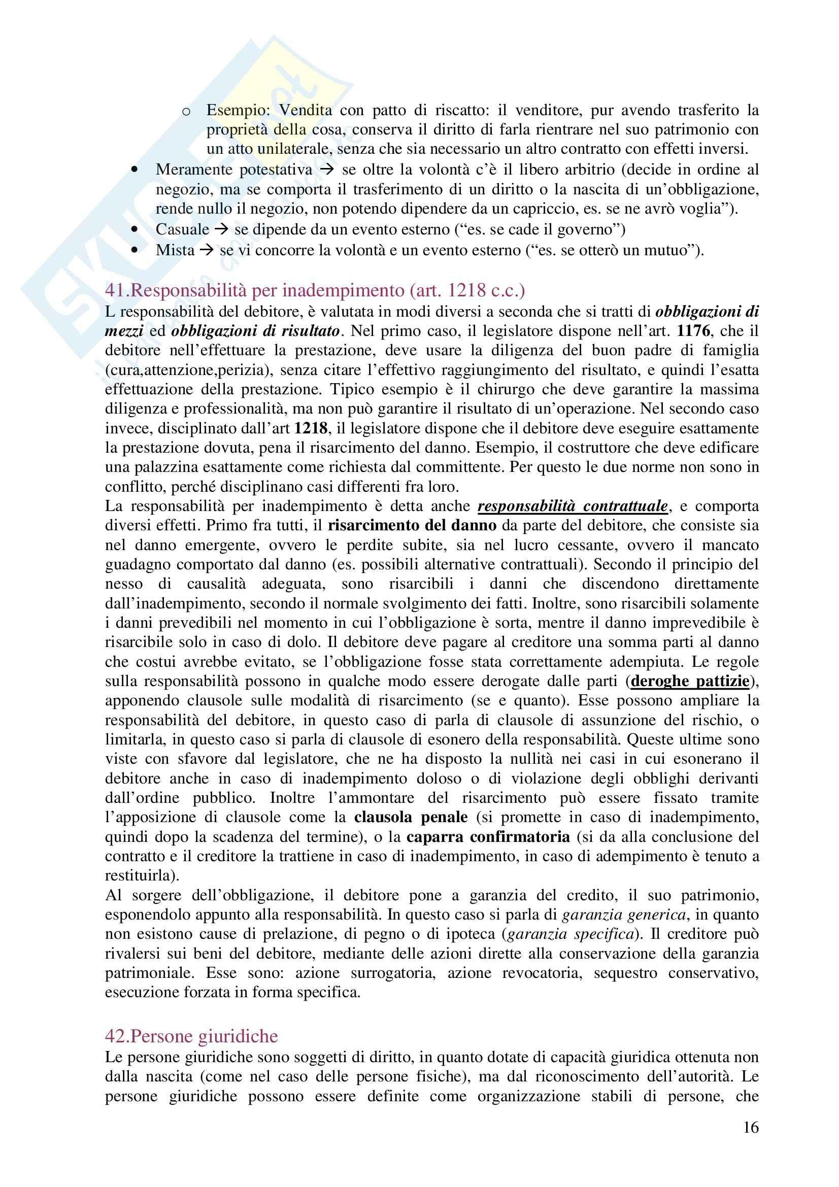 Diritto privato - Domande e risposte Pag. 16