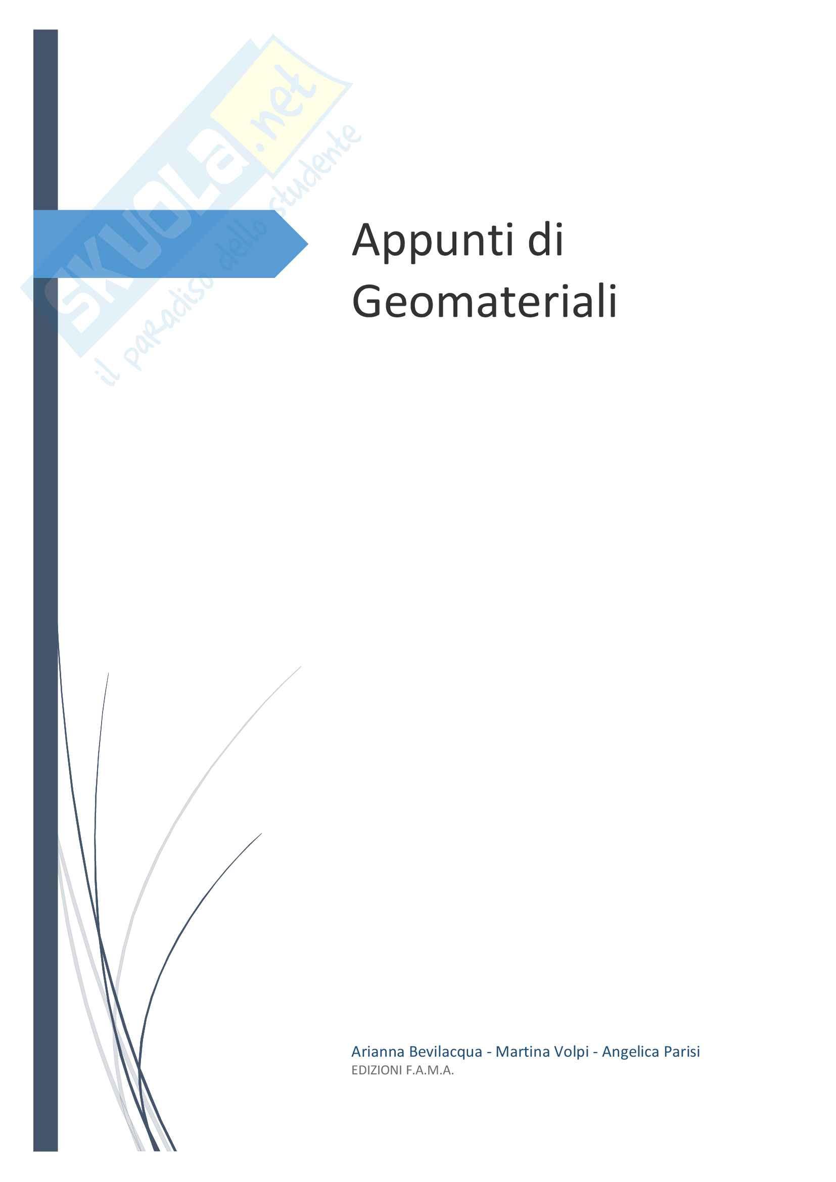 appunto M. Pasero Mineralogia e Petrografia