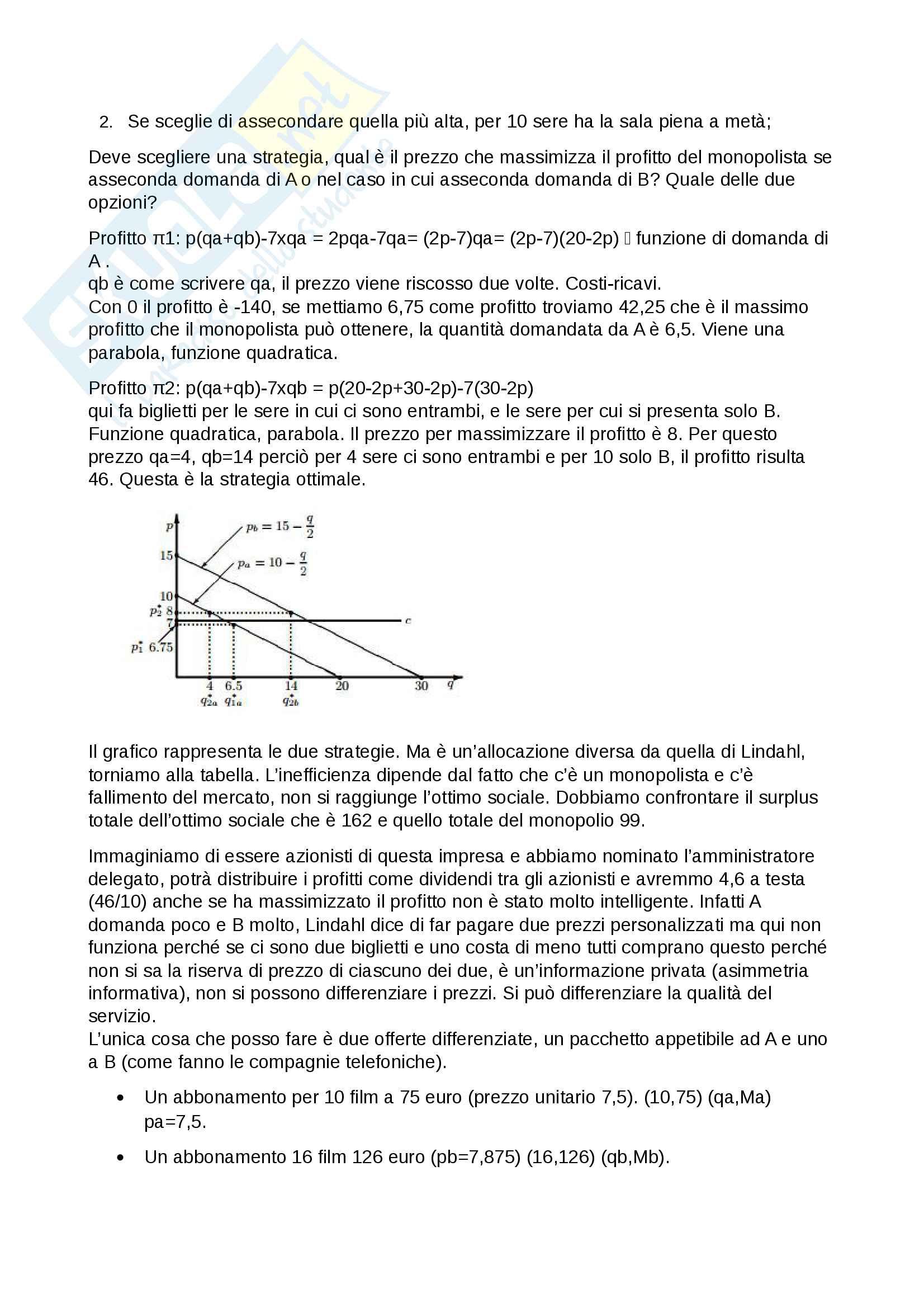 Scienza delle finanze - appunti completi per l'esame Pag. 101