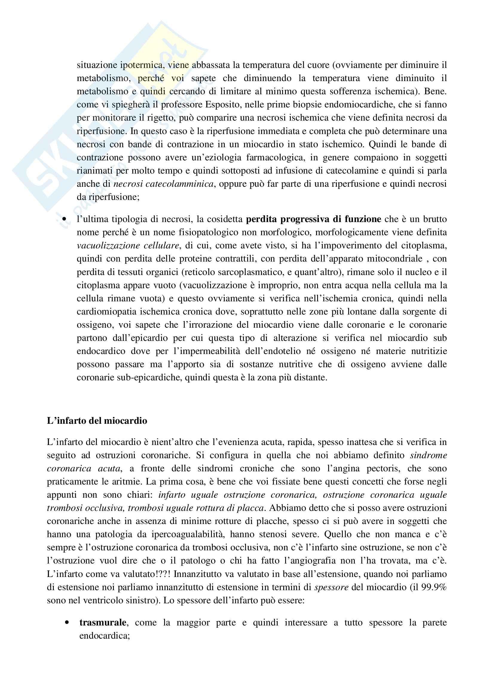 Anatomia patologica - necrosi miocardica Pag. 2