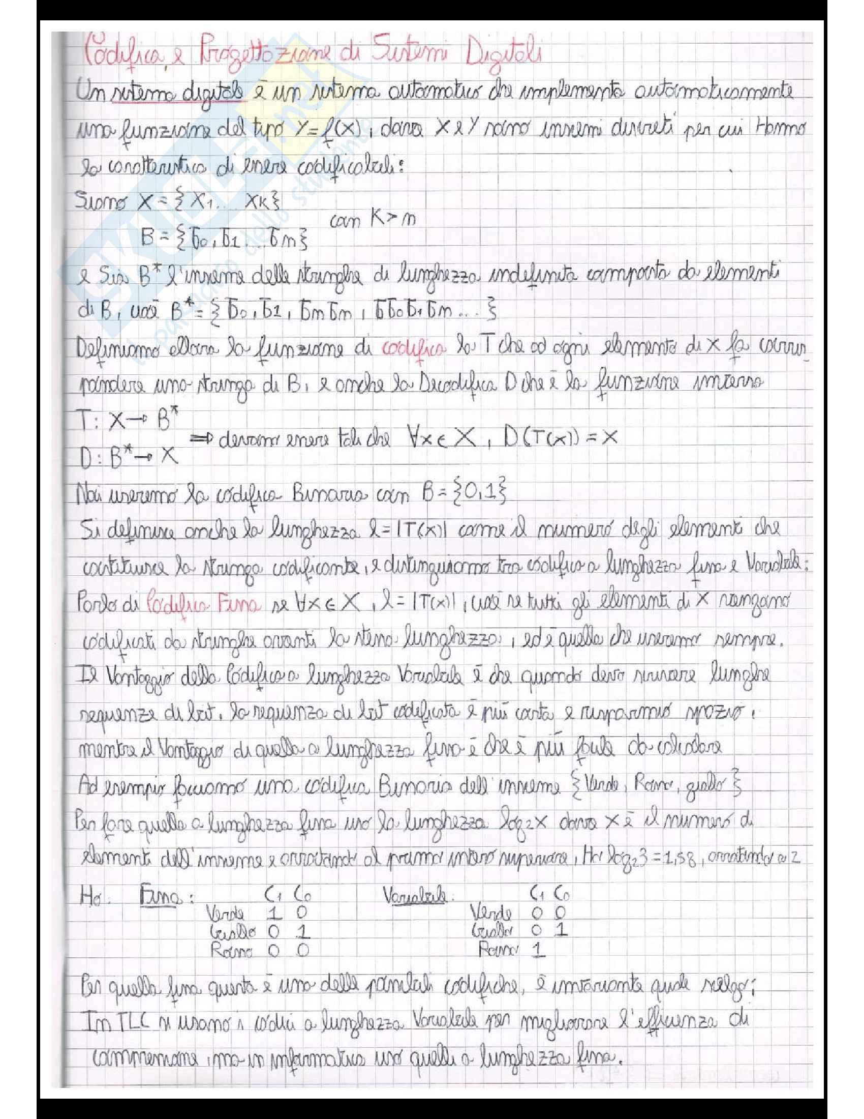 Reti logiche (Teoria + Centinaia di esercizi svolti Pag. 2
