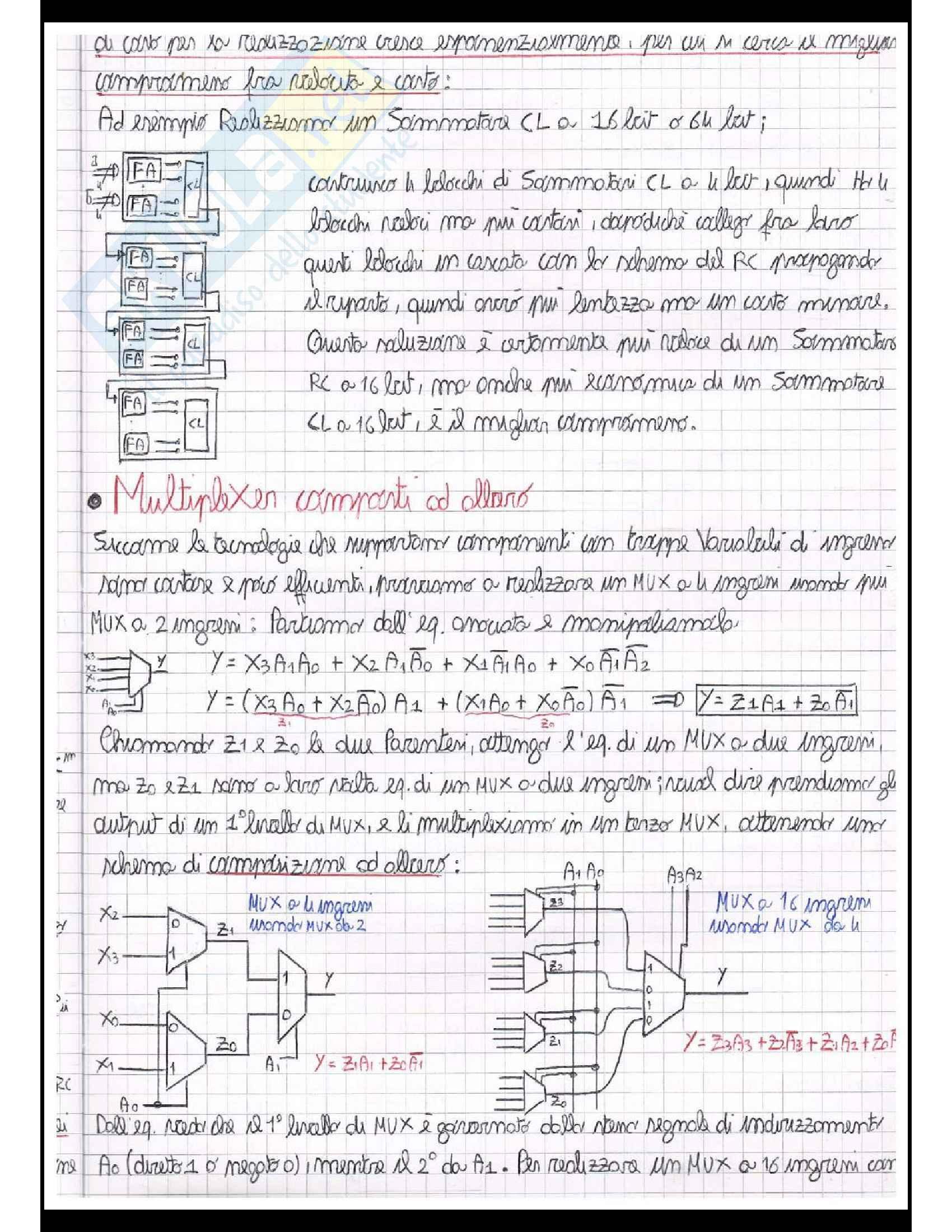 Reti logiche (Teoria + Centinaia di esercizi svolti Pag. 26