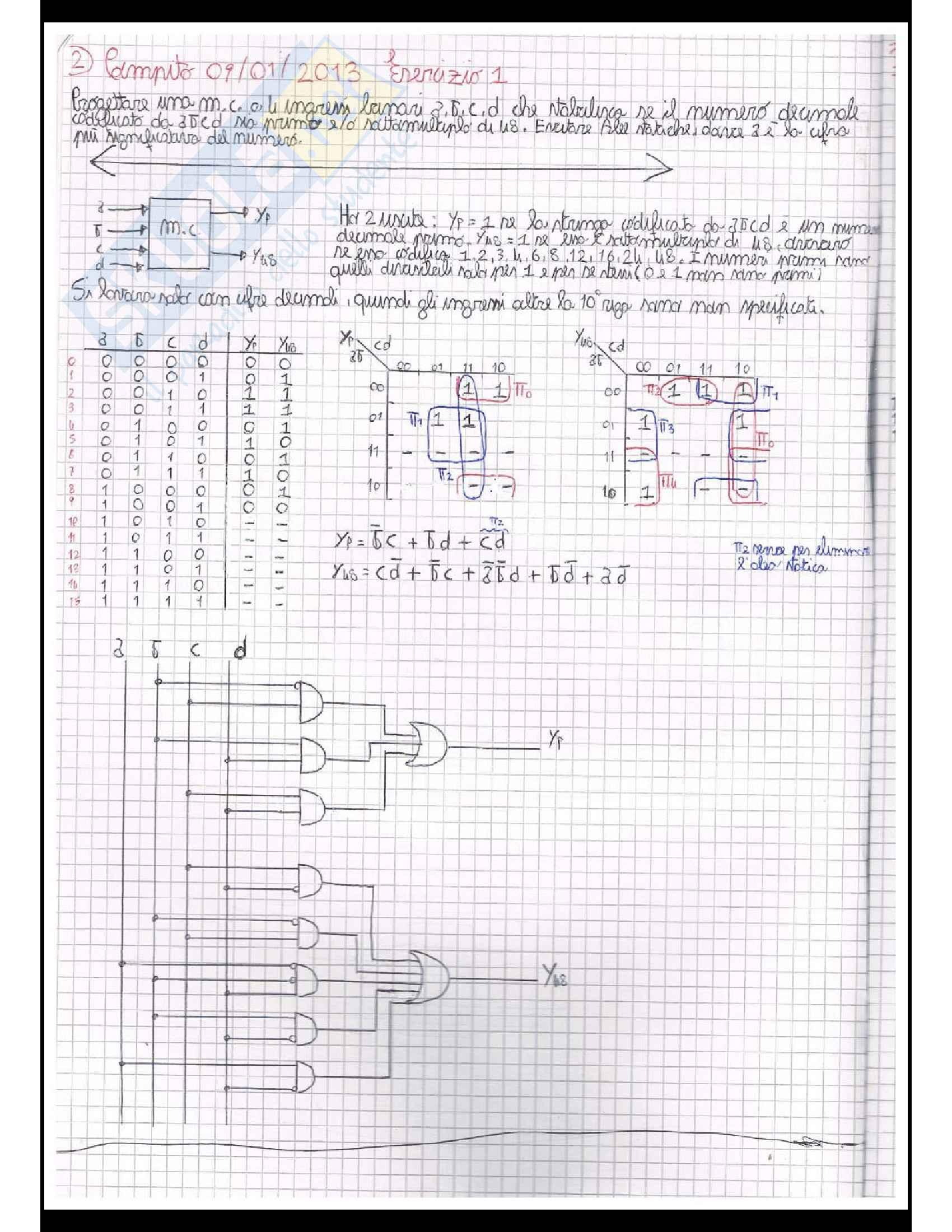 Reti logiche (Teoria + Centinaia di esercizi svolti Pag. 36