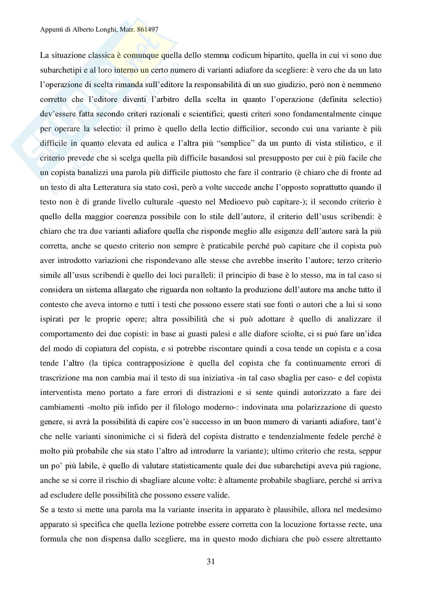 Filologia umanistica Pag. 31