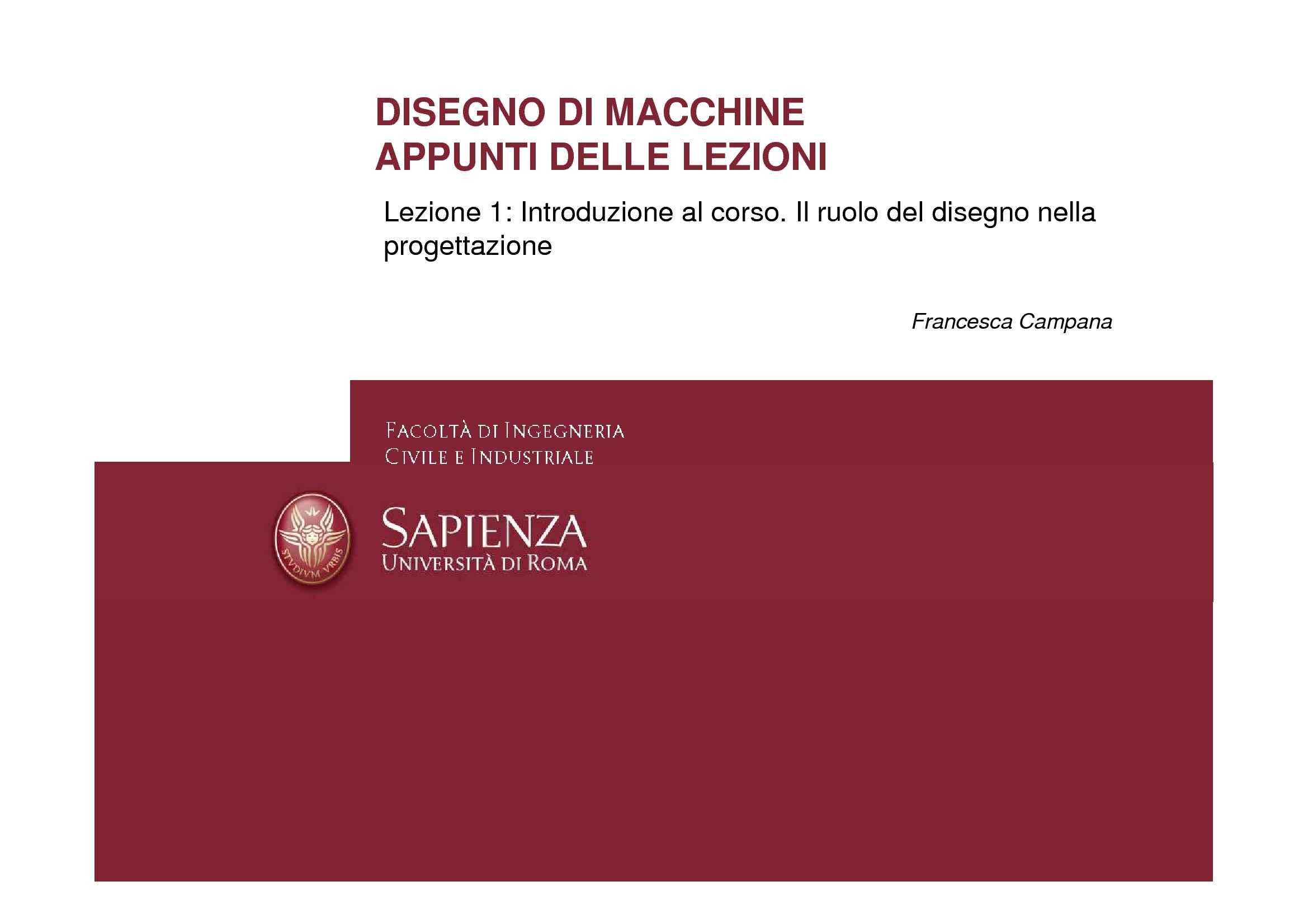 Disegno di macchine - Introduzione