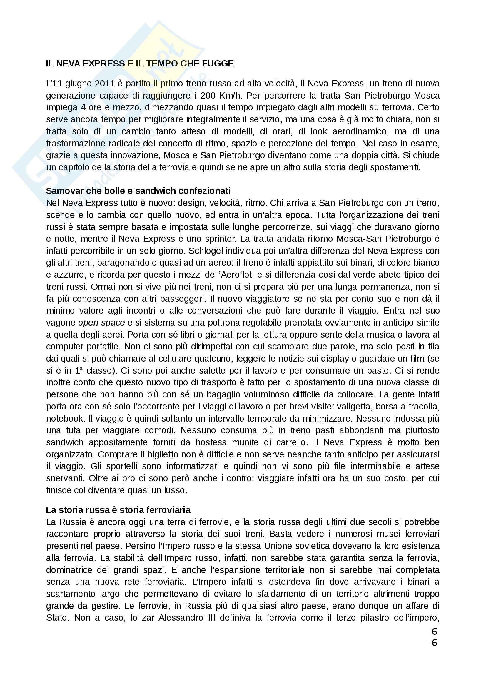 Riassunto esame Teorie politiche, prof. Chiantera, libro consigliato Arcipelago Europa, Schlogel Pag. 6