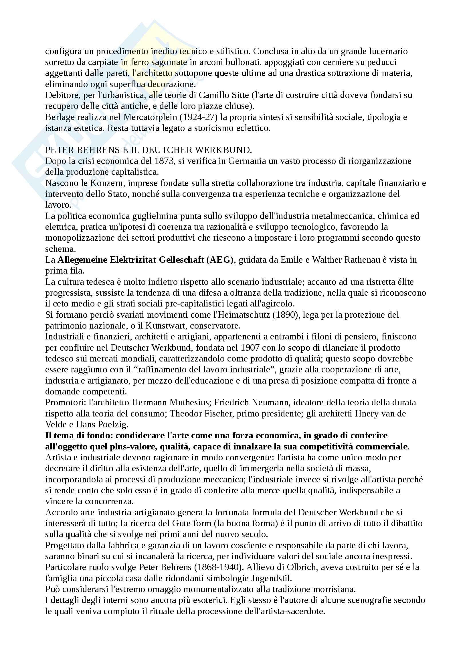 Panoramica di storia dell'architettura Pag. 26