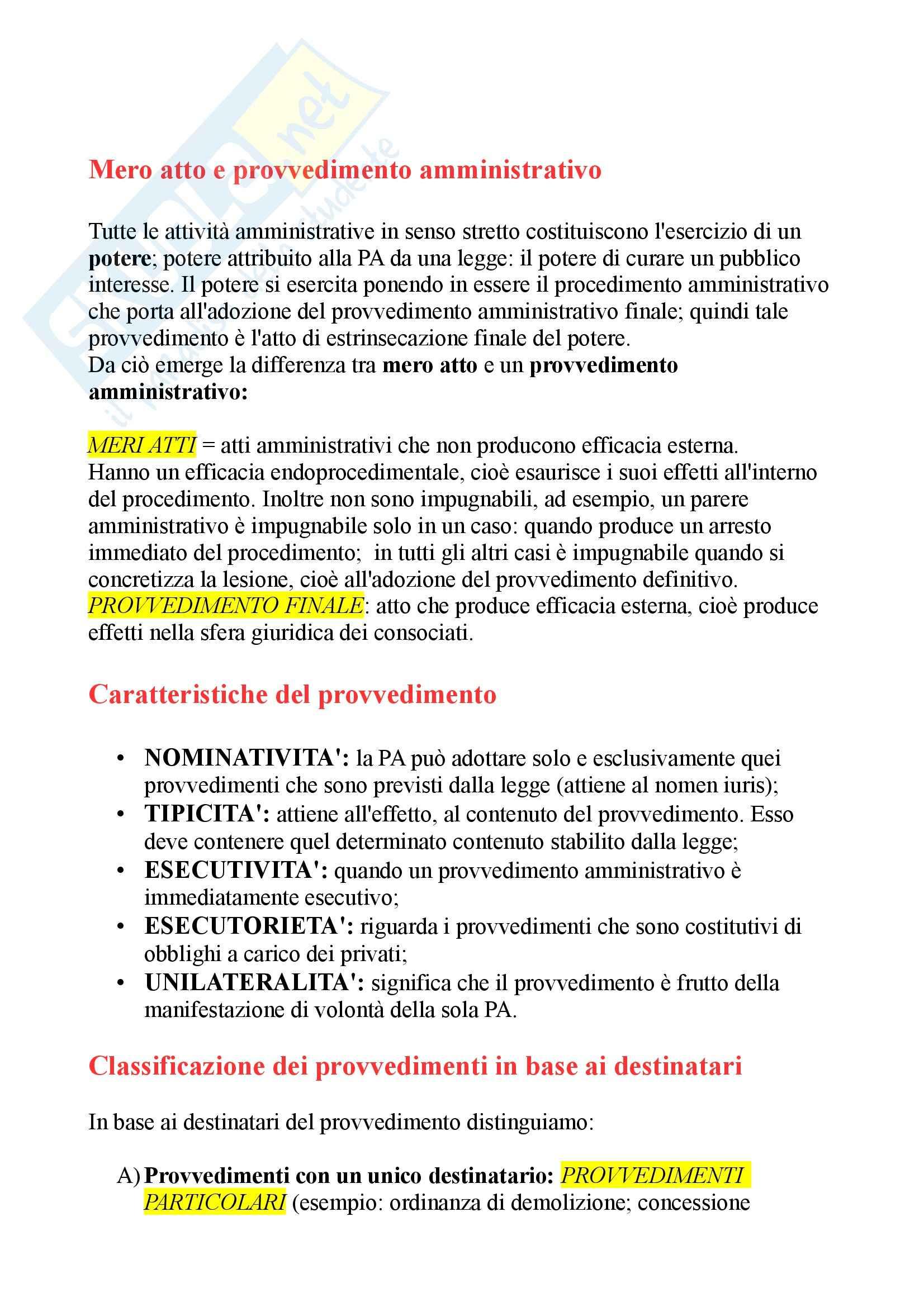 Riassunto esame Diritto amministrativo, prof. D'Emma Pag. 2