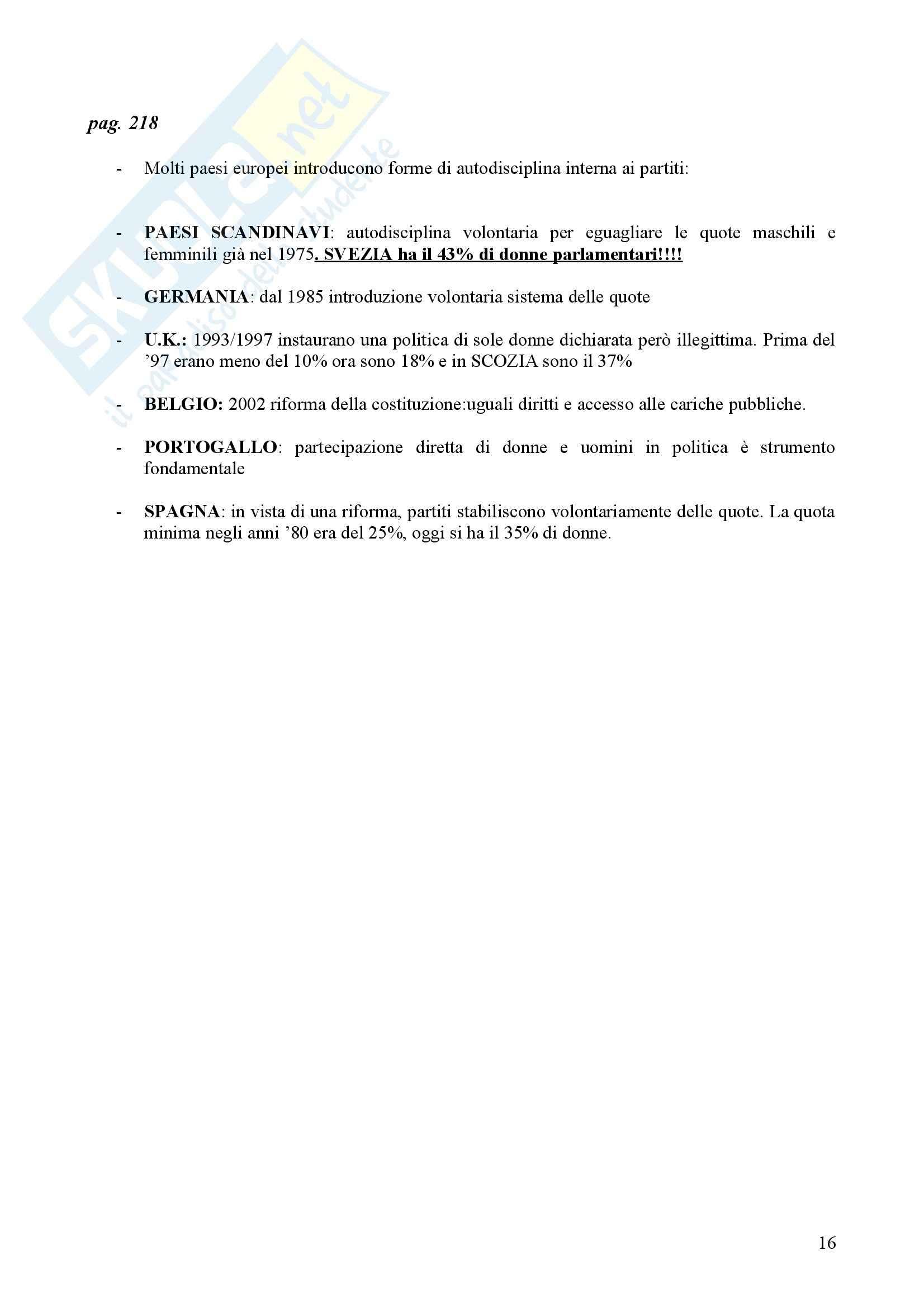 Diritto pubblico comparato - parità e differenza Pag. 16