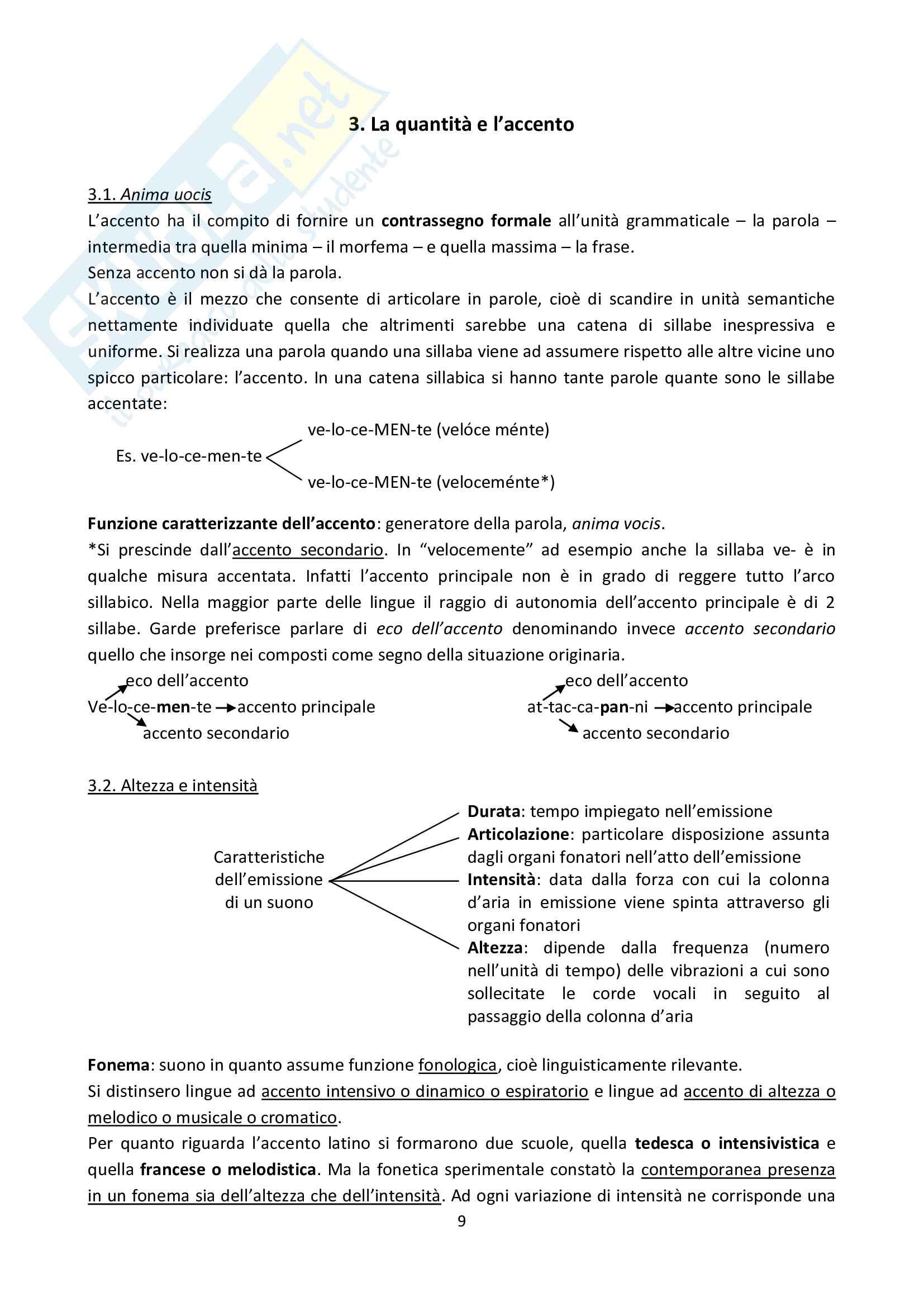 Riassunto esame Lingua Latina, prof. Citti, libro consigliato La propedeutica al latino universitario, Traina-Perini, capitoli 1-6 Pag. 11