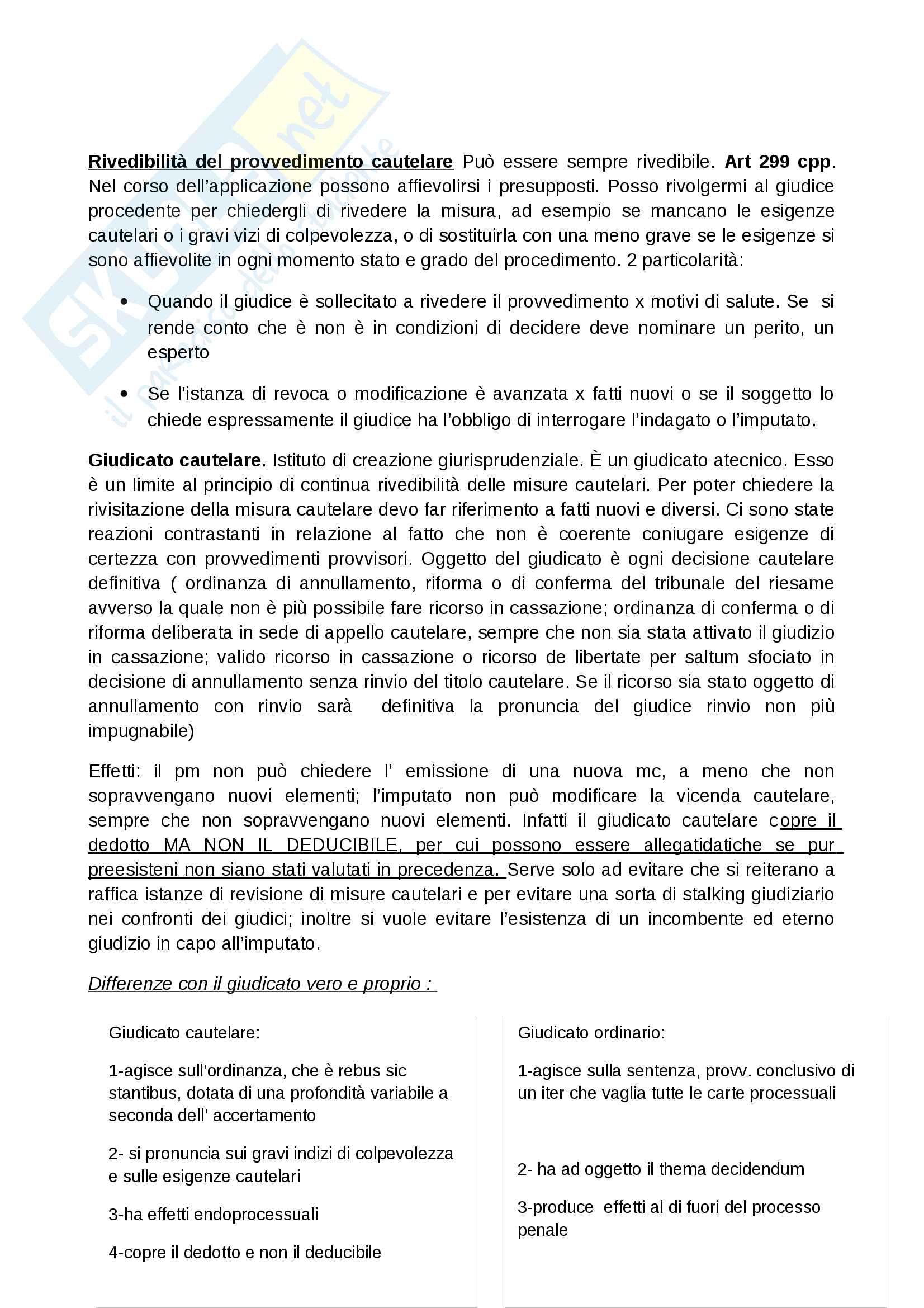 Misure cautelari Pag. 16