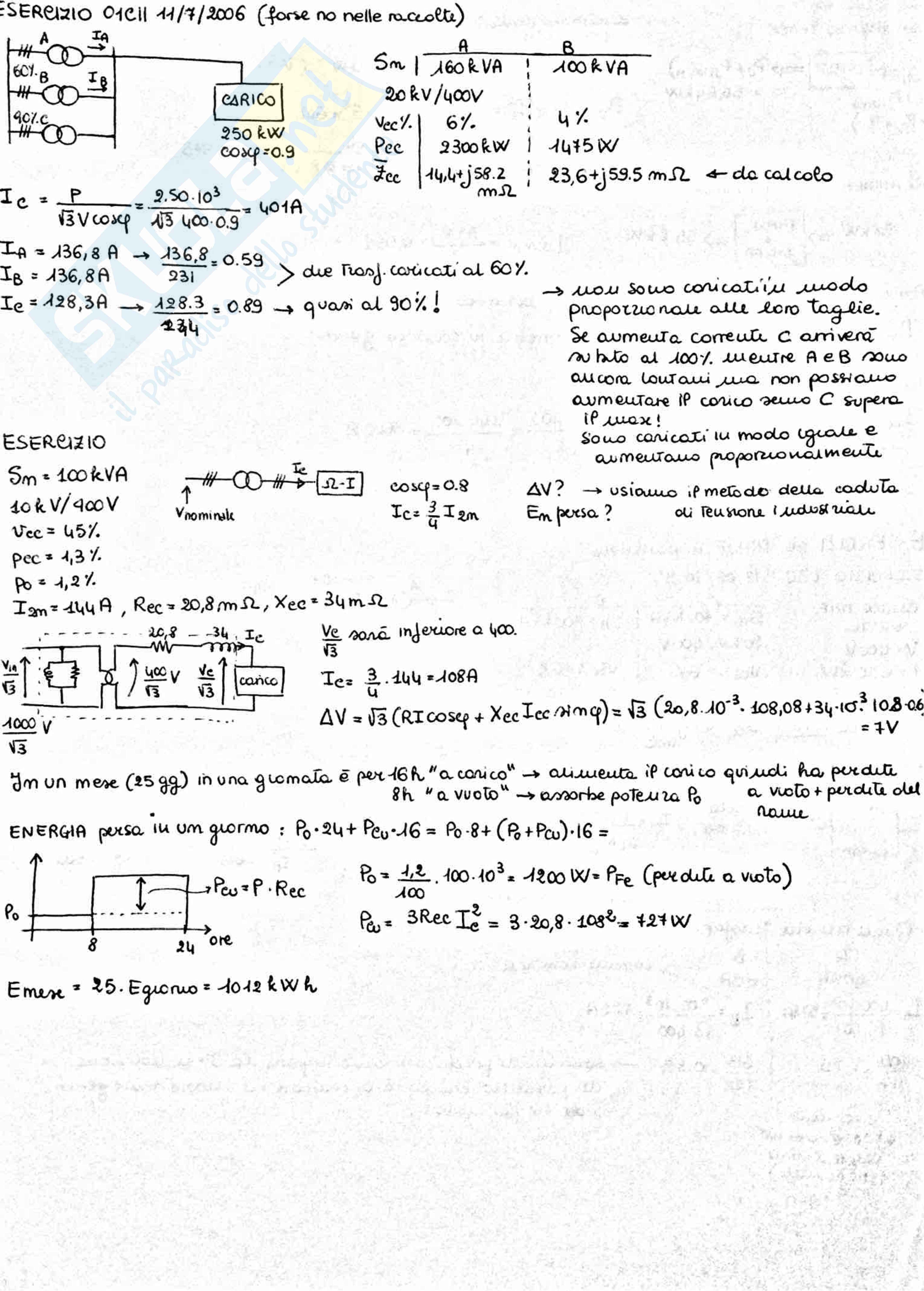 Sistemi Elettrici Industriali, Russo - Teoria + esercizi Pag. 16