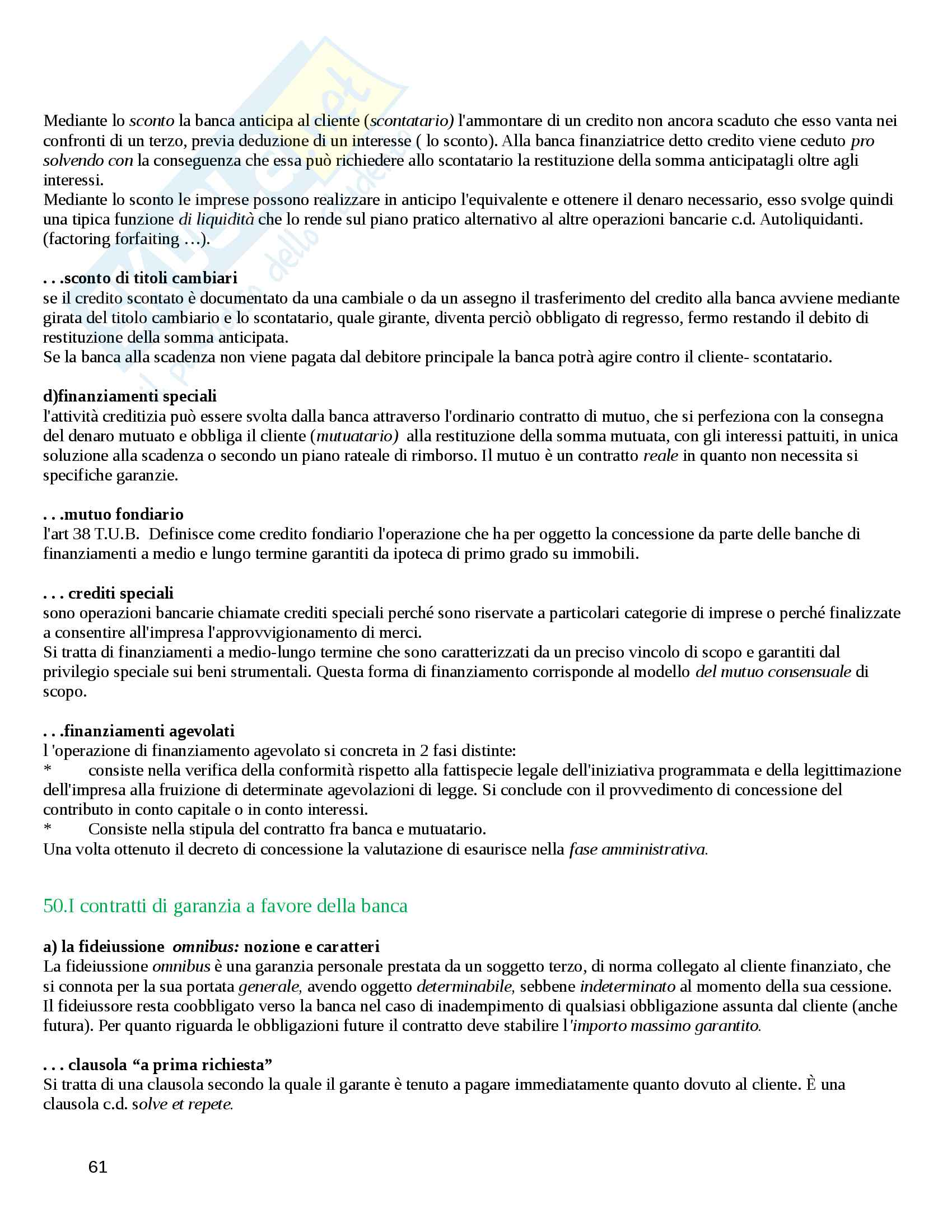 Diritto Commerciale Pag. 61