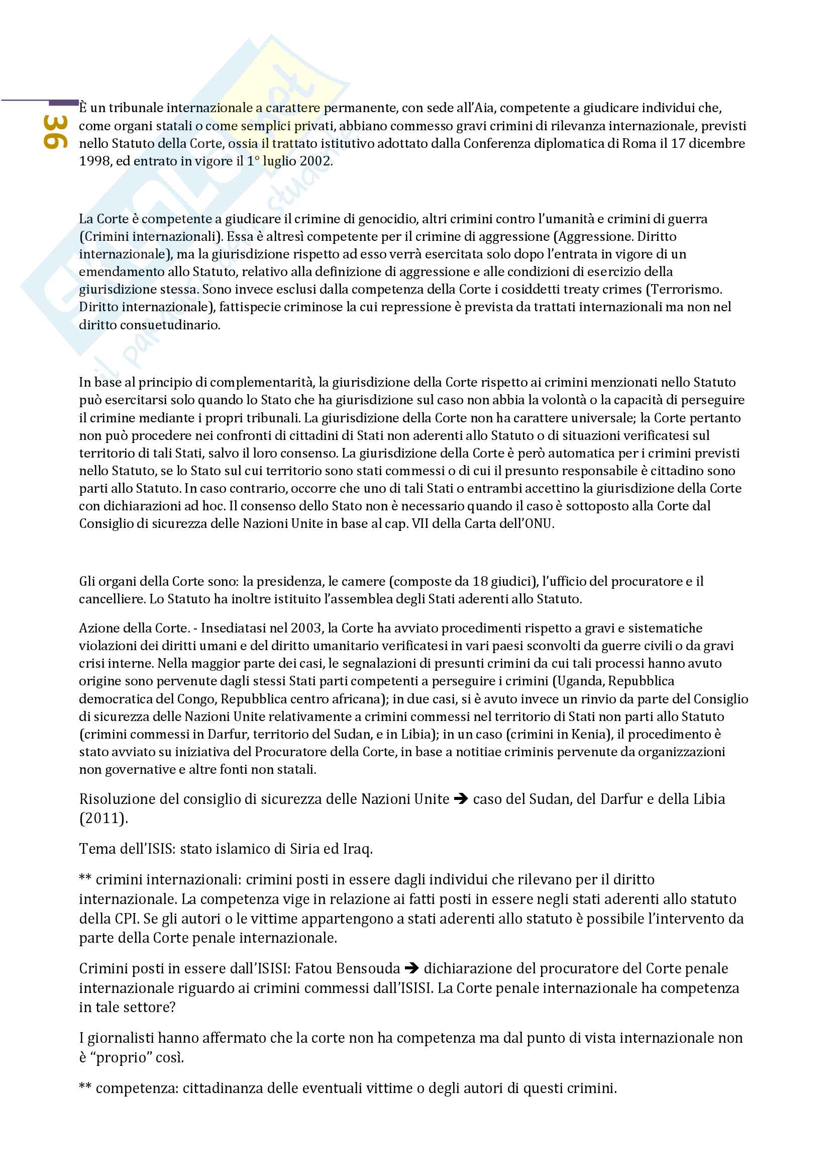 Diritto internazionale Prof. Nesi (Unitn) Pag. 36