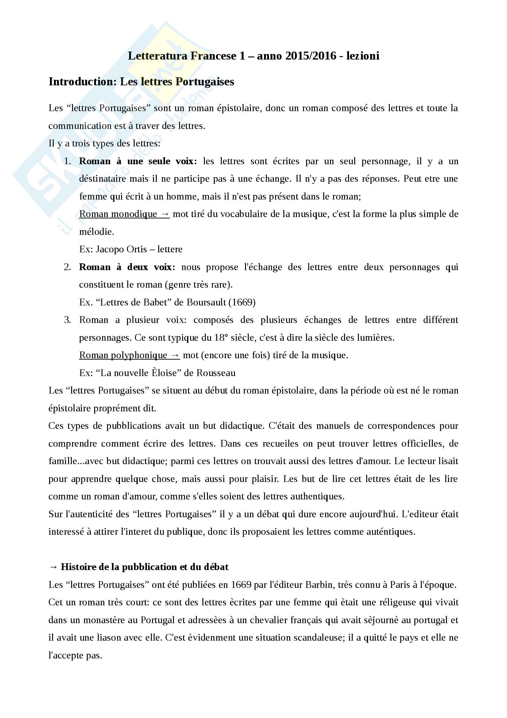 Appunti lezioni Guillerague - Marivaux