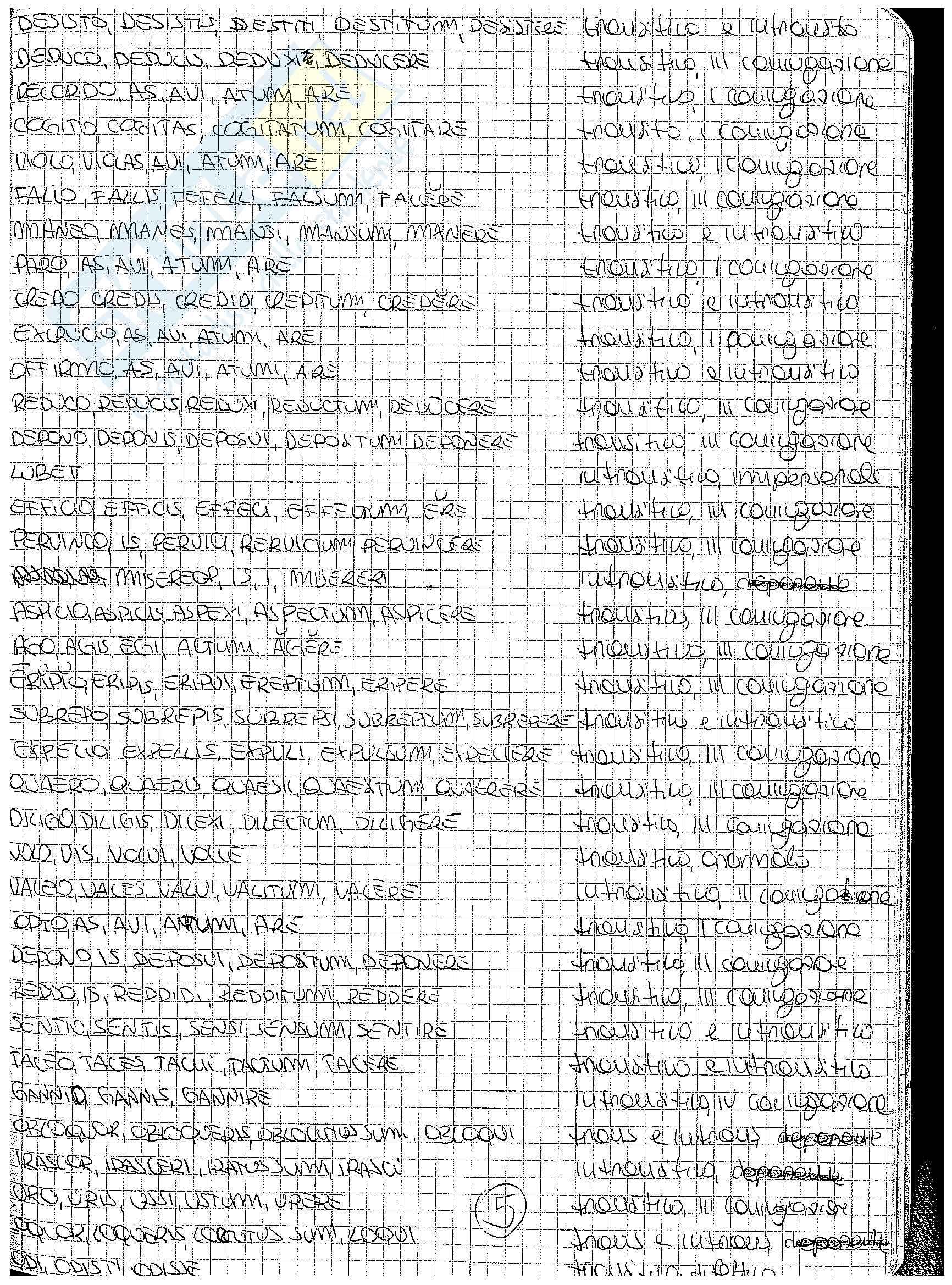 Analisi, traduzione e paradigmi dei carmina di Catullo Pag. 46
