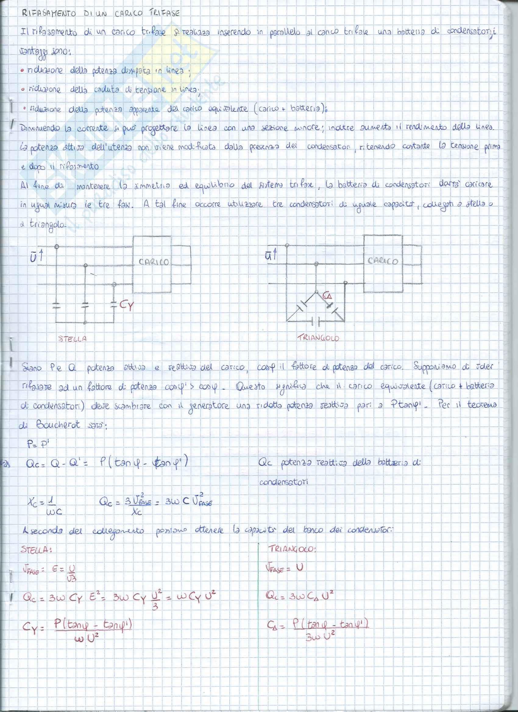 Analisi dei sistemi trifase Pag. 16