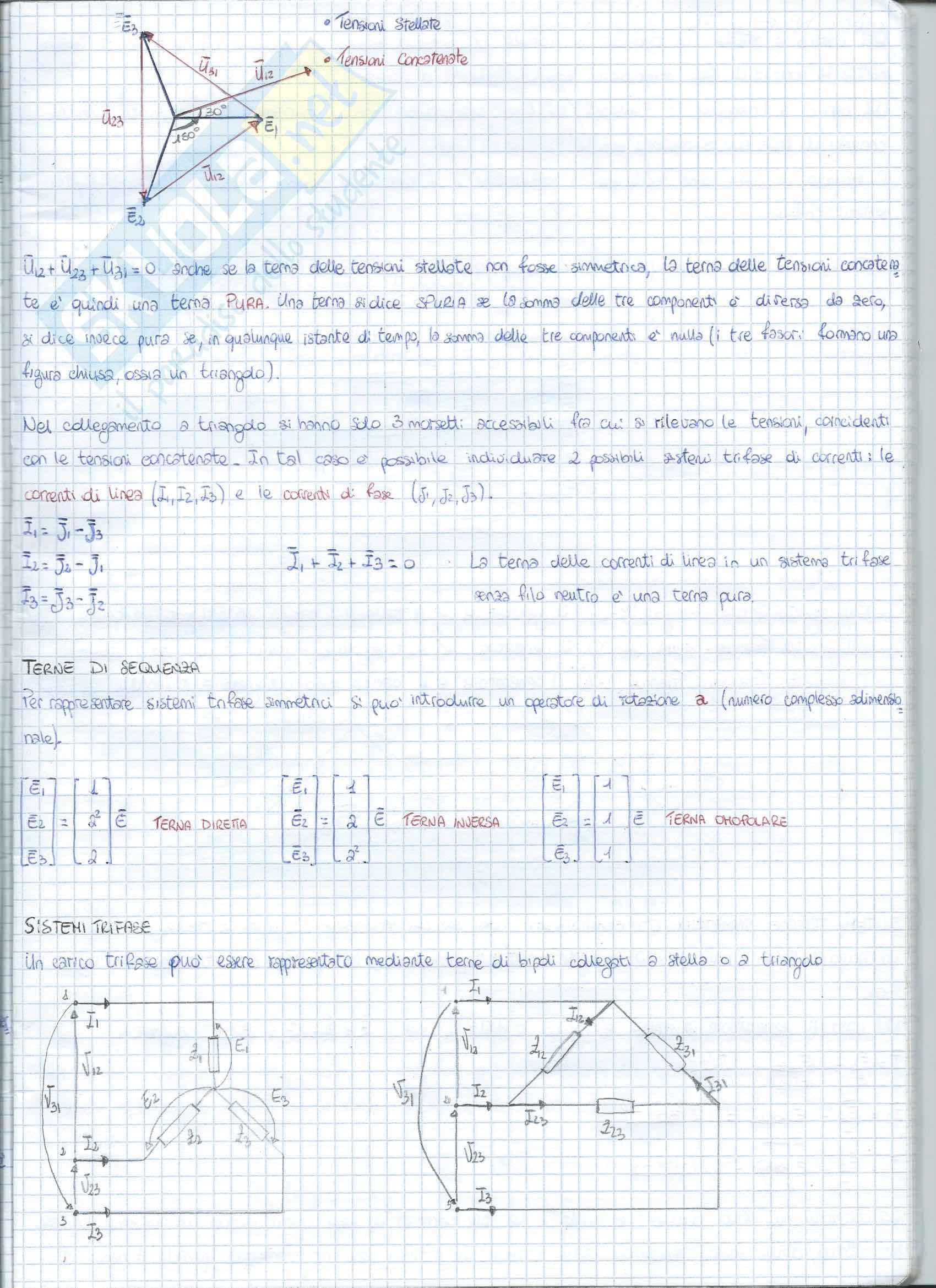 Analisi dei sistemi trifase Pag. 2