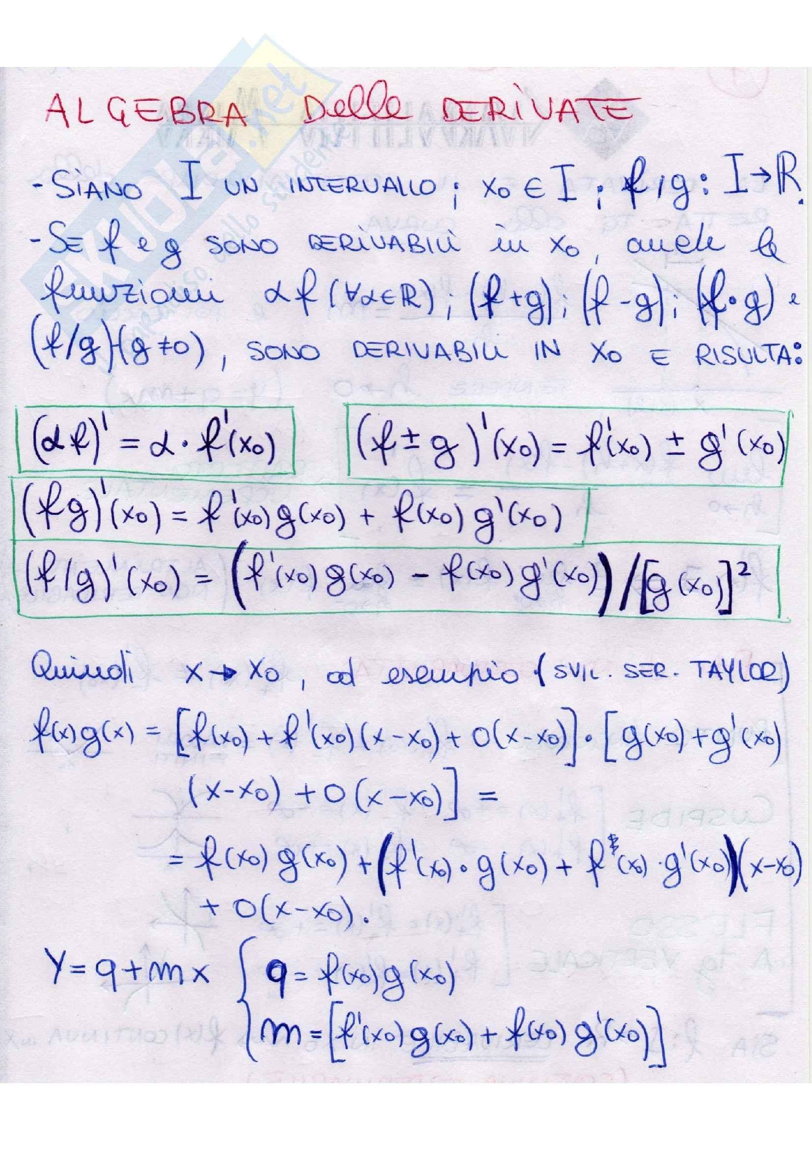 Analisi matematica - teoremi Pag. 11