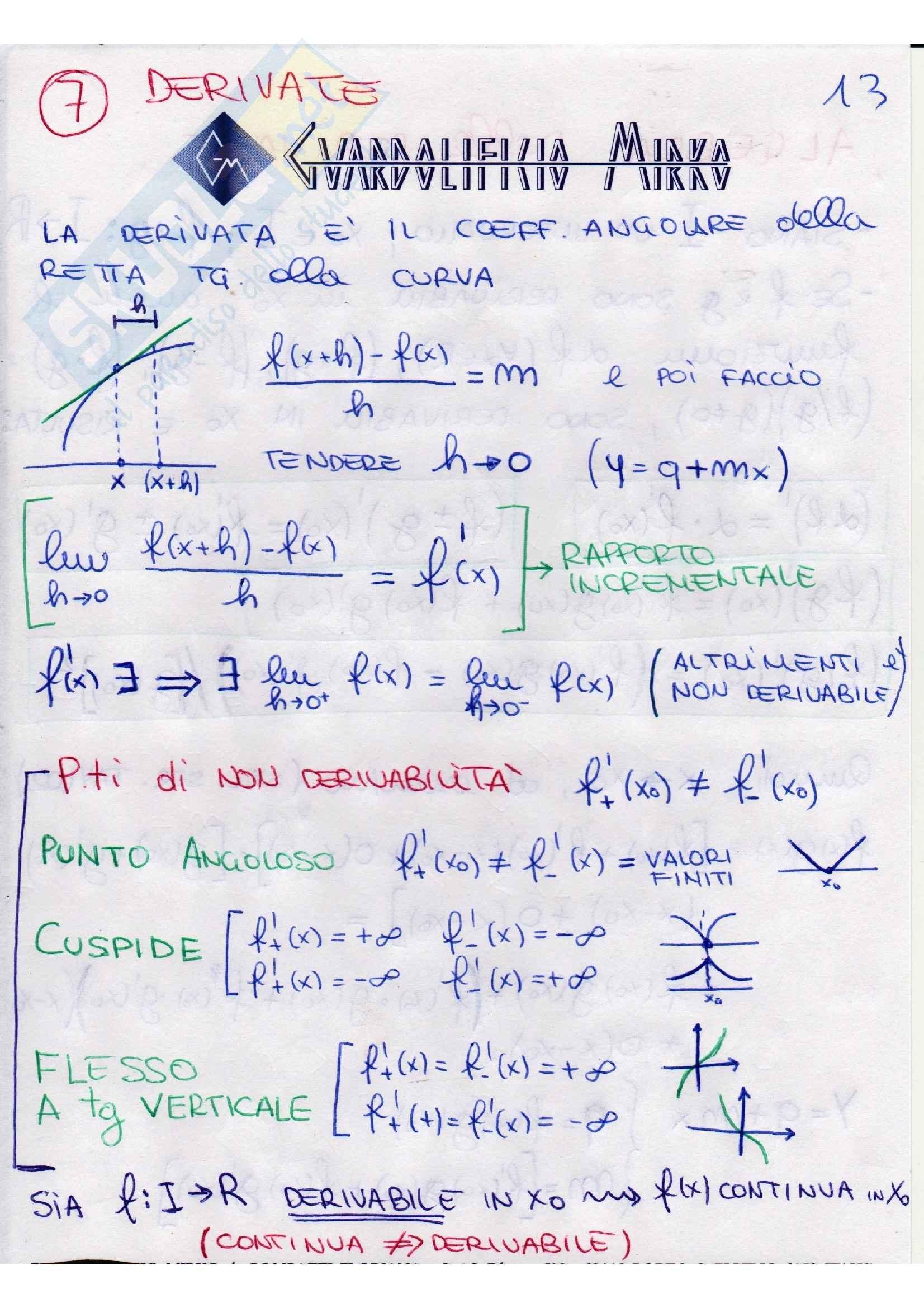 Analisi matematica - teoremi Pag. 16